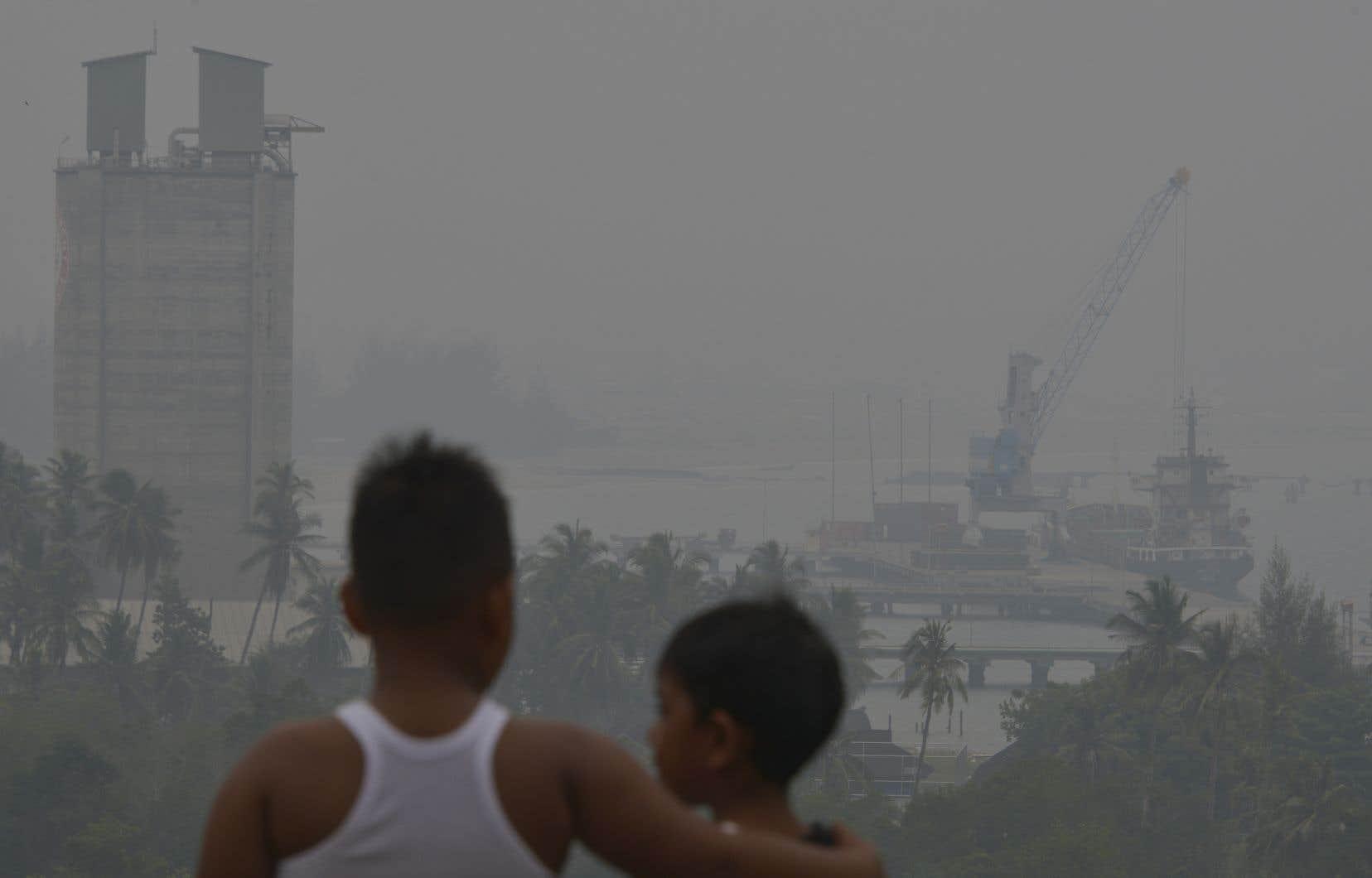 Les enfants les plus jeunes sont les plus vulnérables face à cette pollution à cause de leur système immunitaire encore en développement.