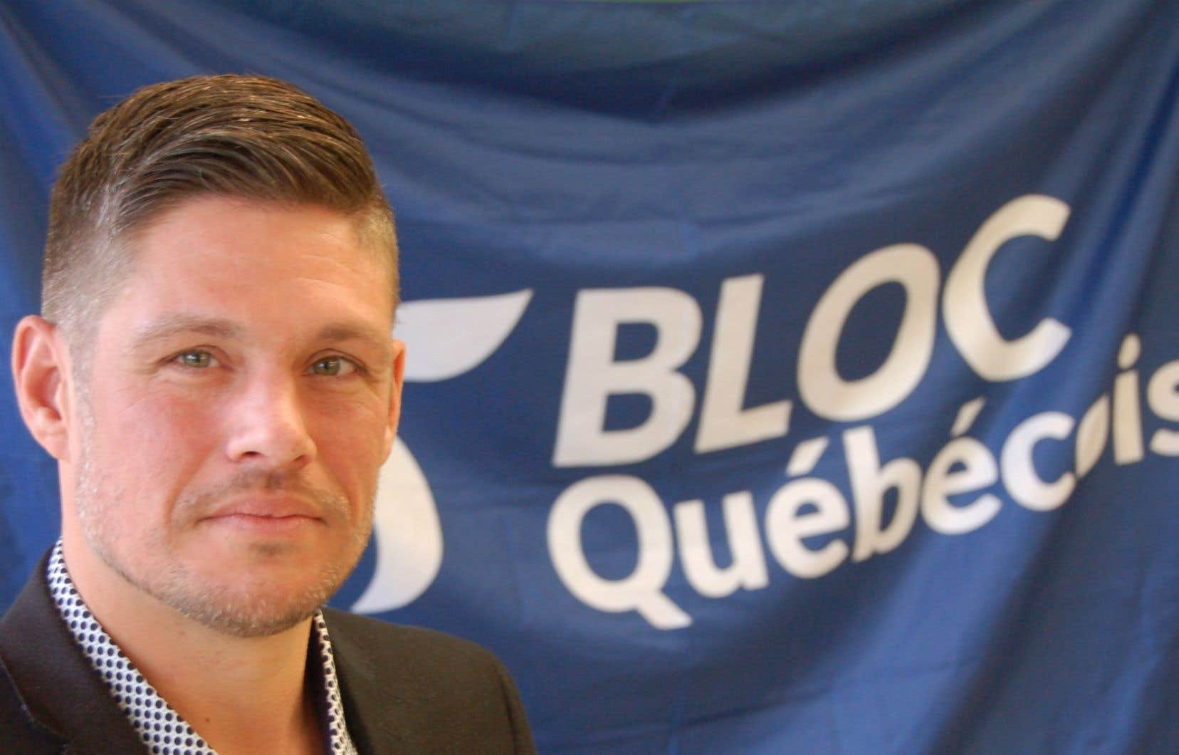 ChristianHébert, un producteur de cidre de la région de Portneuf, était candidat pour le Parti Québécois lors de la dernière élection. Il a aussi été candidat lors de la dernière course à la chefferie du Bloc Québécois.