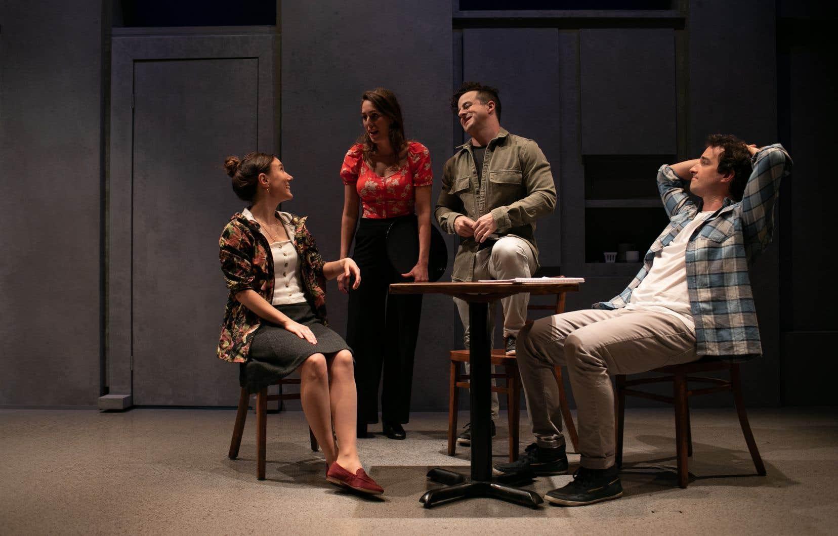 La pièce, au texte légèrement actualisé, fait le récit tout simple d'un homme bouleversé par une rencontre avec le sixième art.
