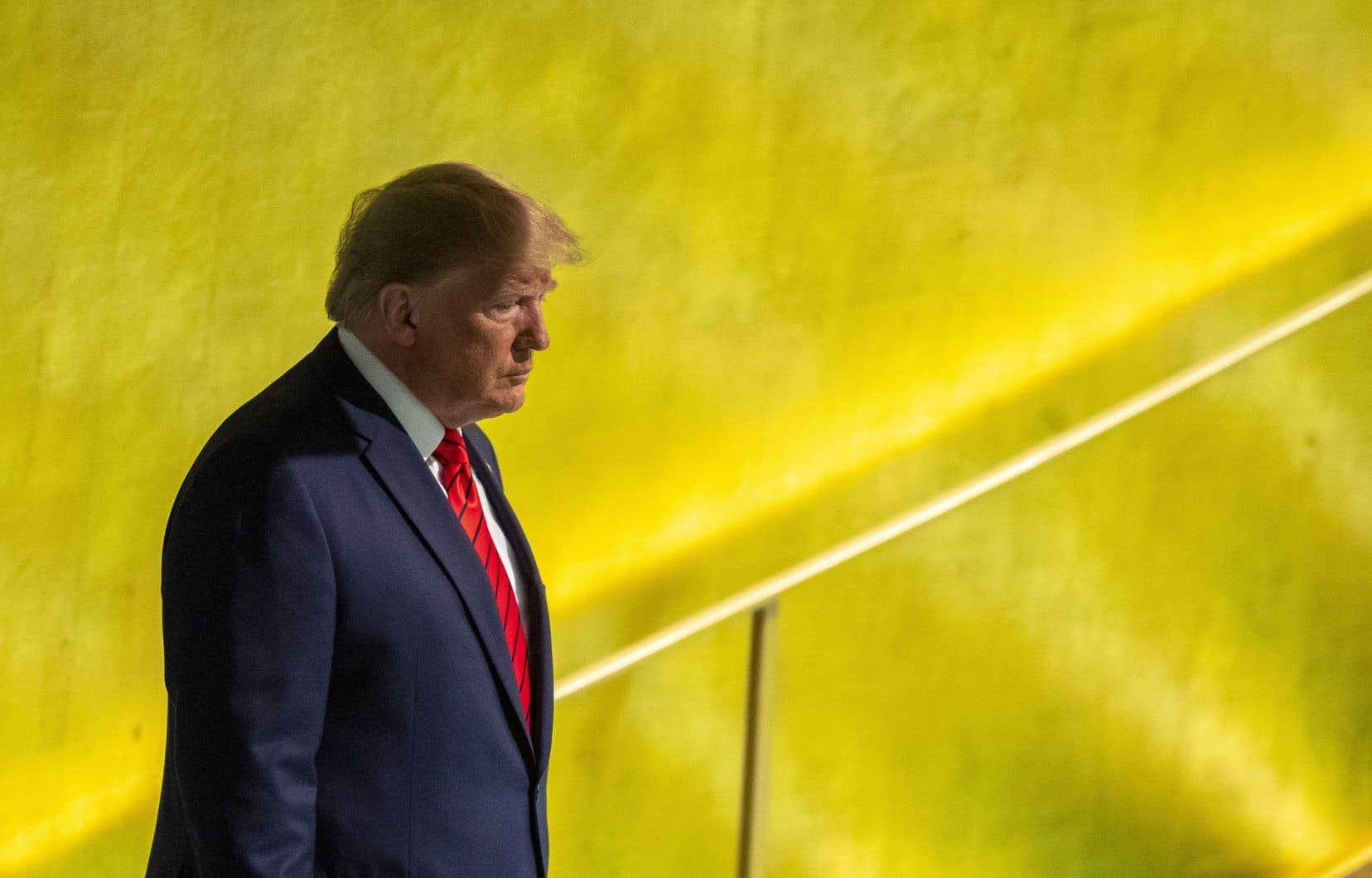 Les parlementaires démocrates ont initié mardi une procédure de destitution de Donald Trump.