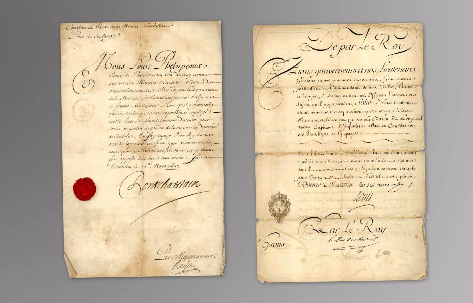 De très rares documents manuscrits qui concernent l'histoire de la Nouvelle-France ont été acquisà l'occasion d'une vente aux enchères tenue à Toronto le 24septembre.