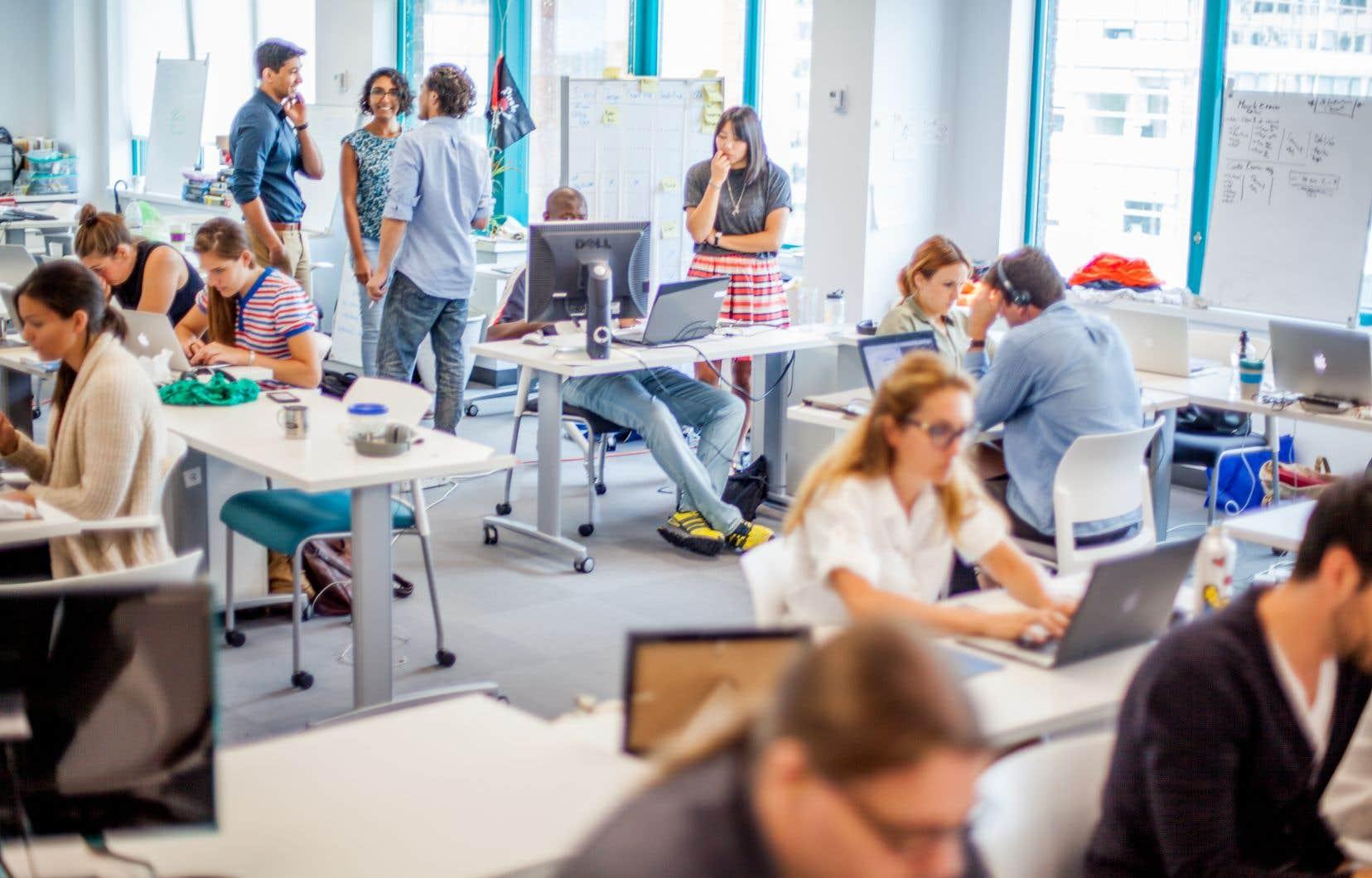 Le centre District 3 permet aux participants de se familiariser avec la réalité du monde des affaires.
