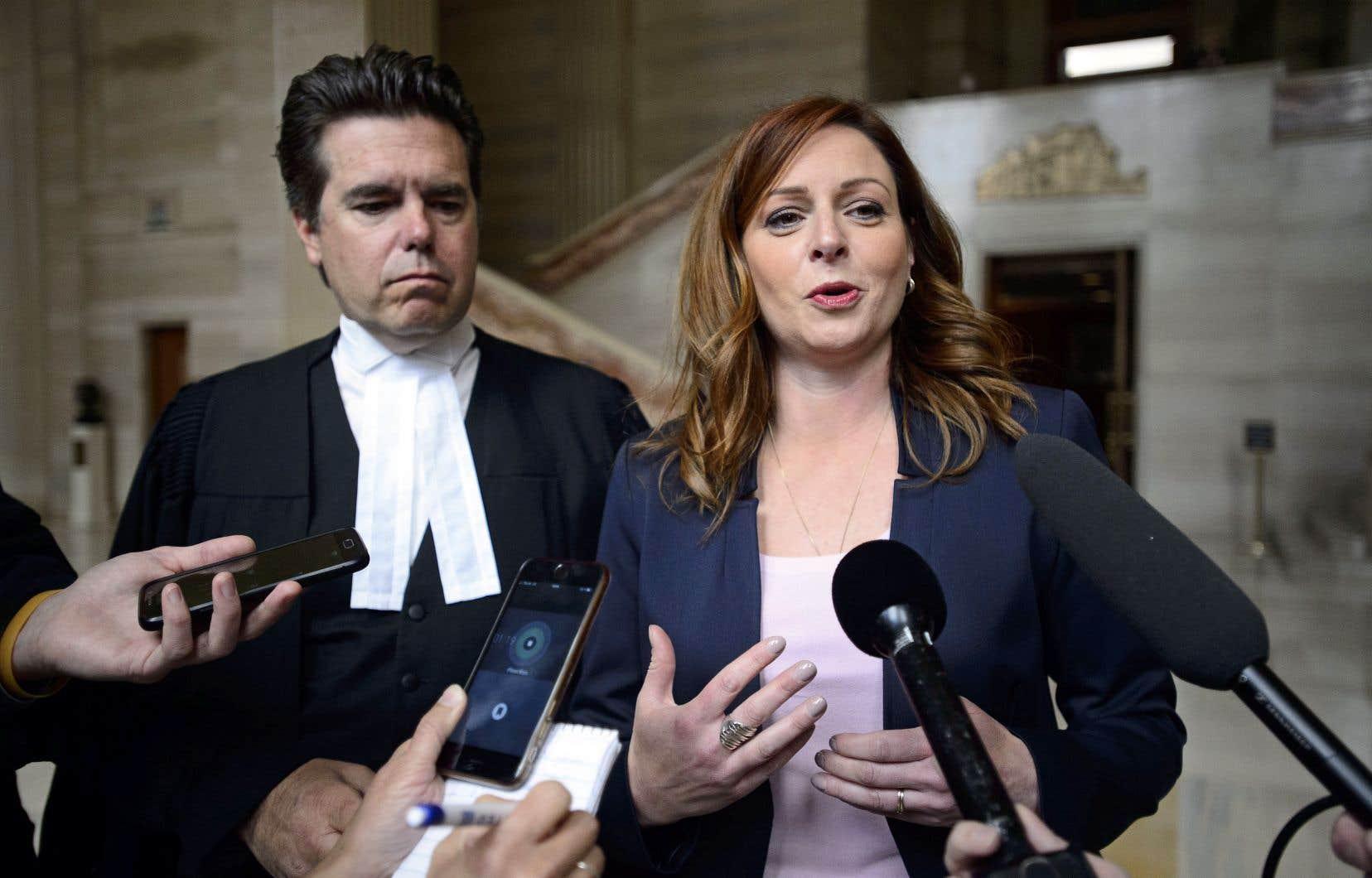 La journaliste Marie-Maude Denis s'est réjouie vendredi de la décision de la Cour suprême sur la protection des sources journalistiques.