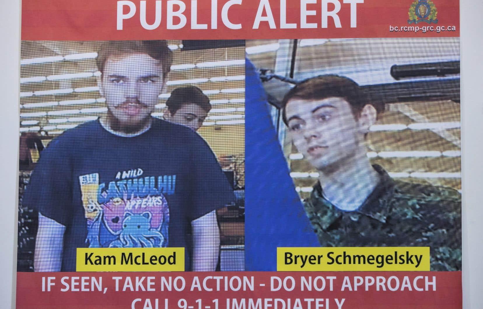 Les deux hommes avaient été retrouvés sans vie dans le nord du Manitoba après une longue chasse à l'homme dans plusieurs provinces.