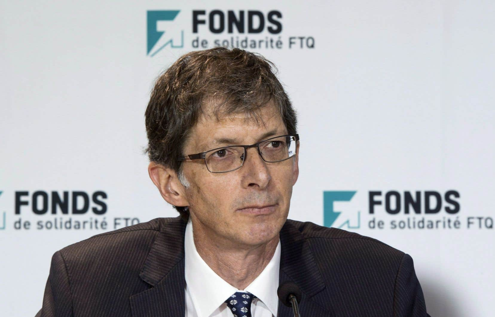 Le président du Fonds de solidarité FTQ, Gaétan Morin