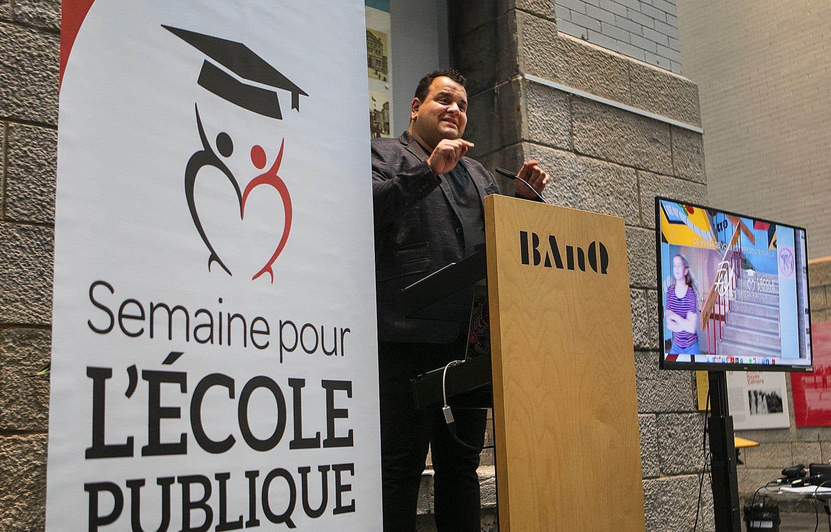 L'humoriste Philippe Laprise agira, pour une troisième année, à titre de porte-parole de l'événement qui aura lieu cette fois du 5 au 12octobre.