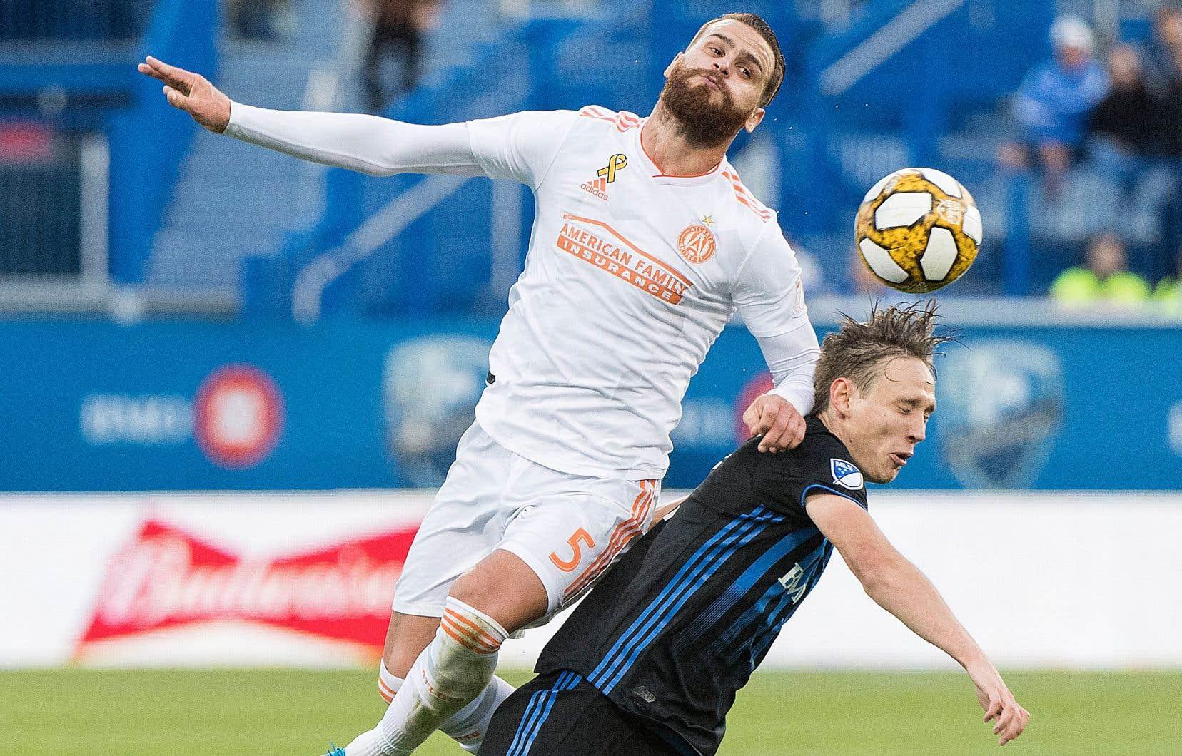 Lassi Lappalainen et les siens n'ont pu faire mieux qu'un match nul dimanche contre Atlanta United.