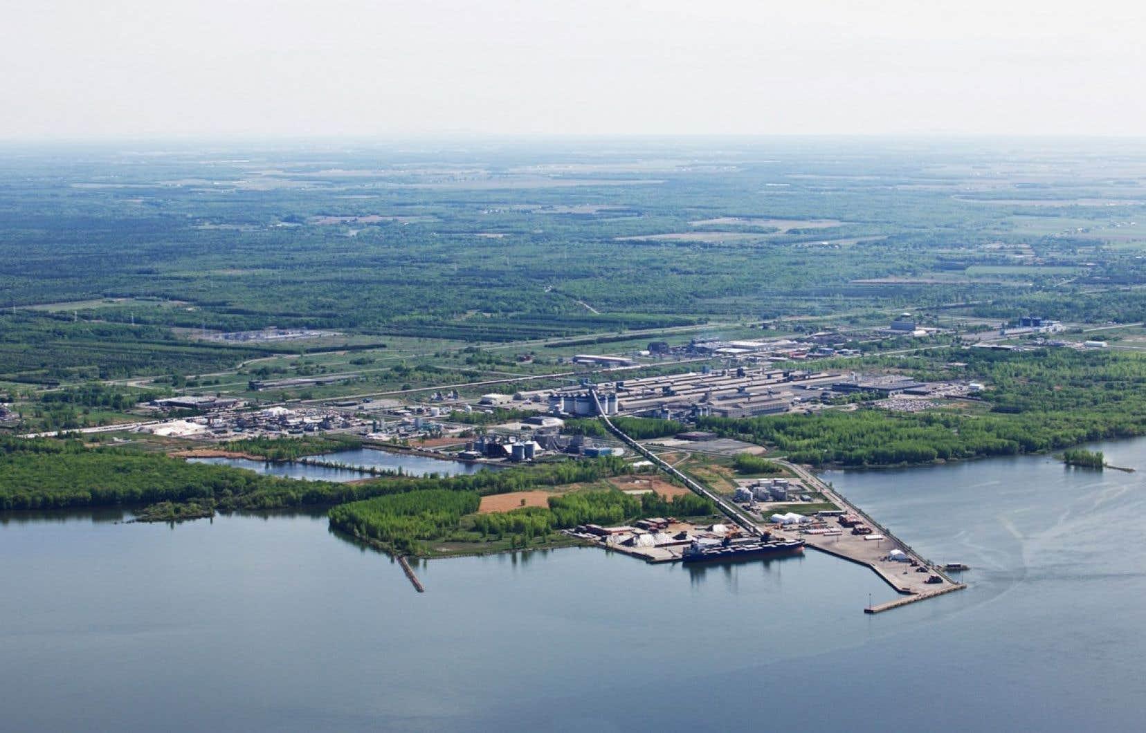 L'usine de Bécancour devait produire chaque année 780000 tonnes d'urée, ce qui signifie que la majorité de la production aurait été destinée à l'exportation.