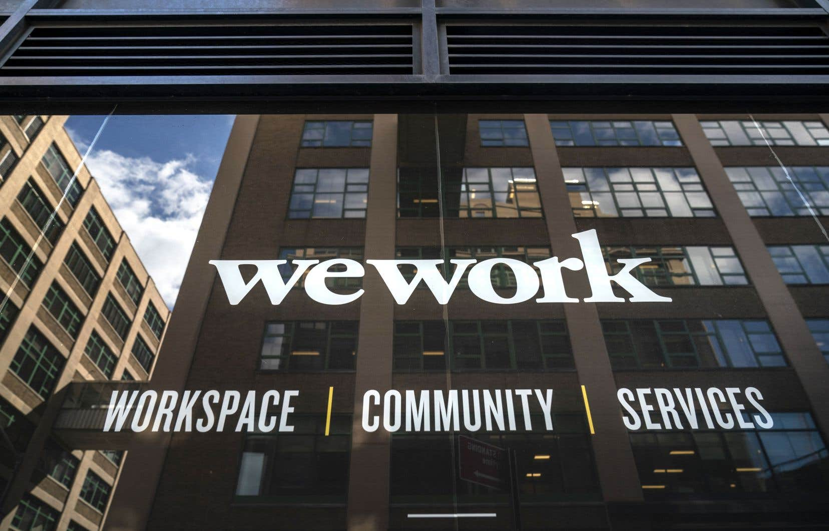 Un bureau de WeWork à New York