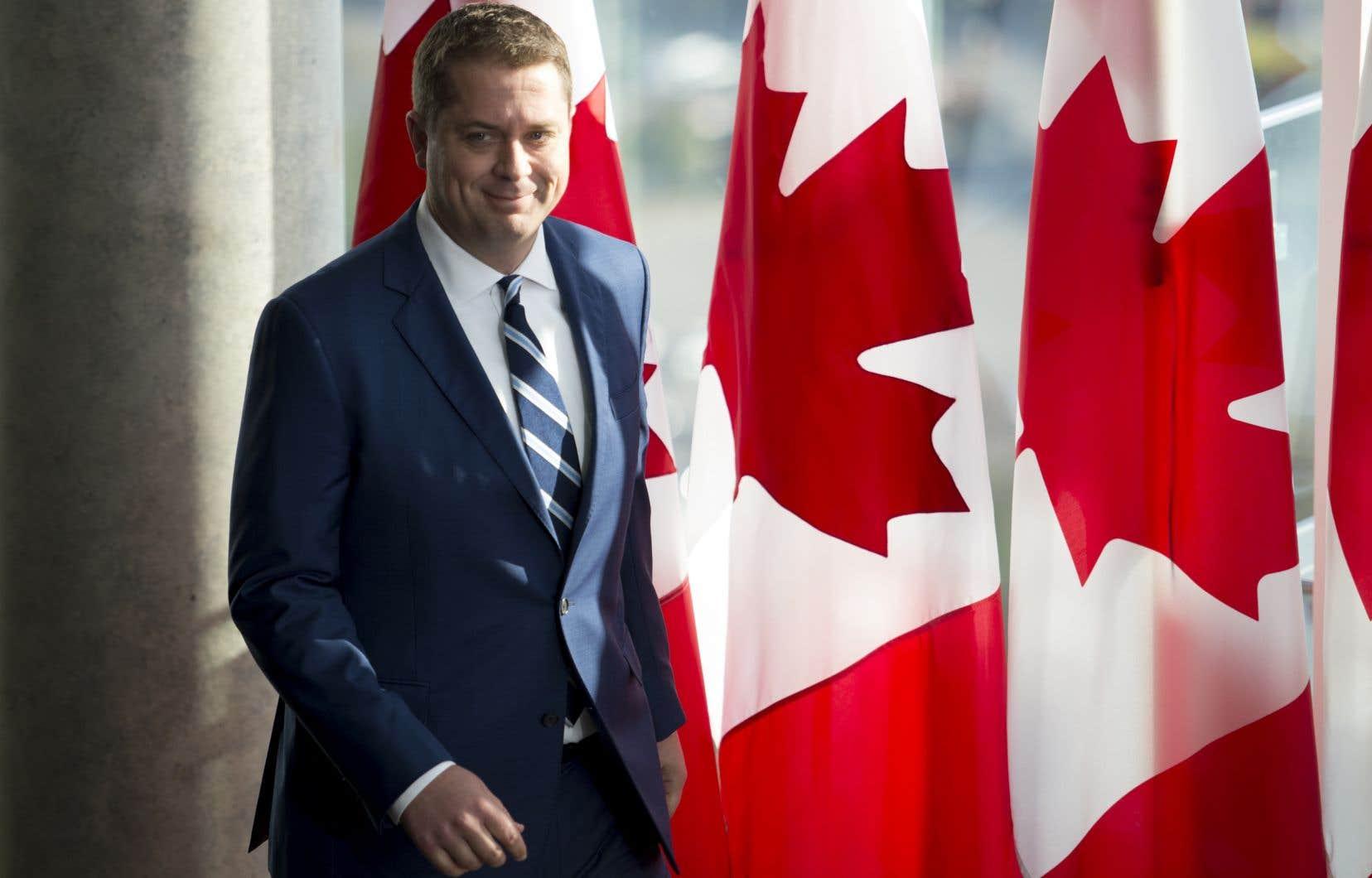 Andrew Scheer a l'intention de réduire considérablement le soutien financier que le Canada fournit à l'étranger.