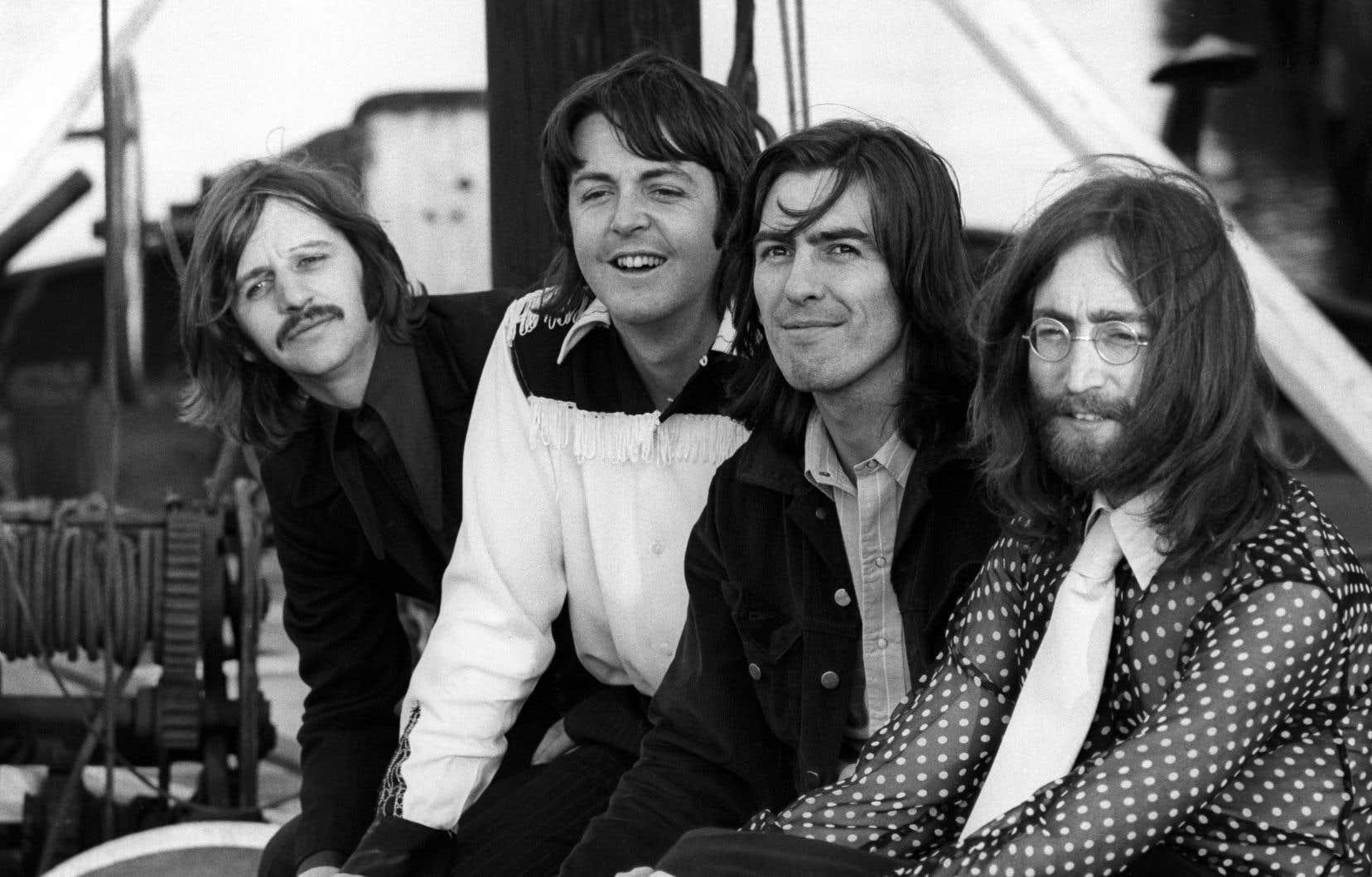 Ringo Starr, Paul McCartney, George Harrison et John Lennon