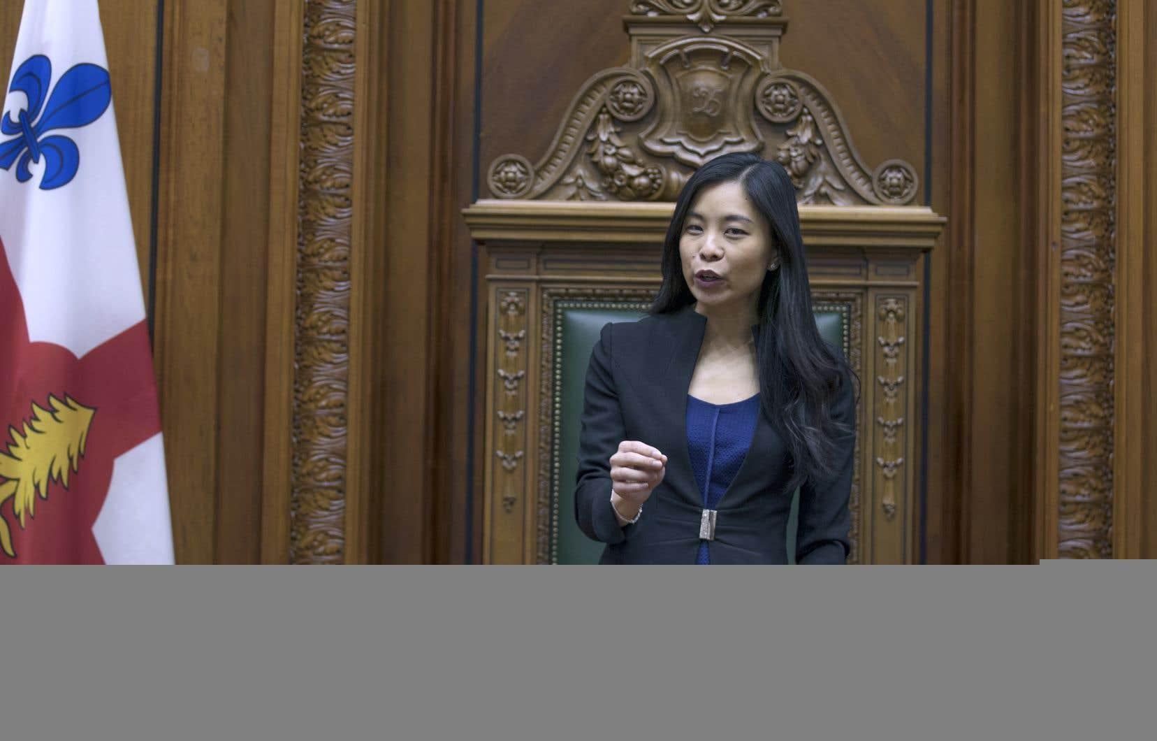 L'arrivée de Cathy Wong à Projet Montréal porte à 52 le nombre d'élus que compte désormais le parti au pouvoir.
