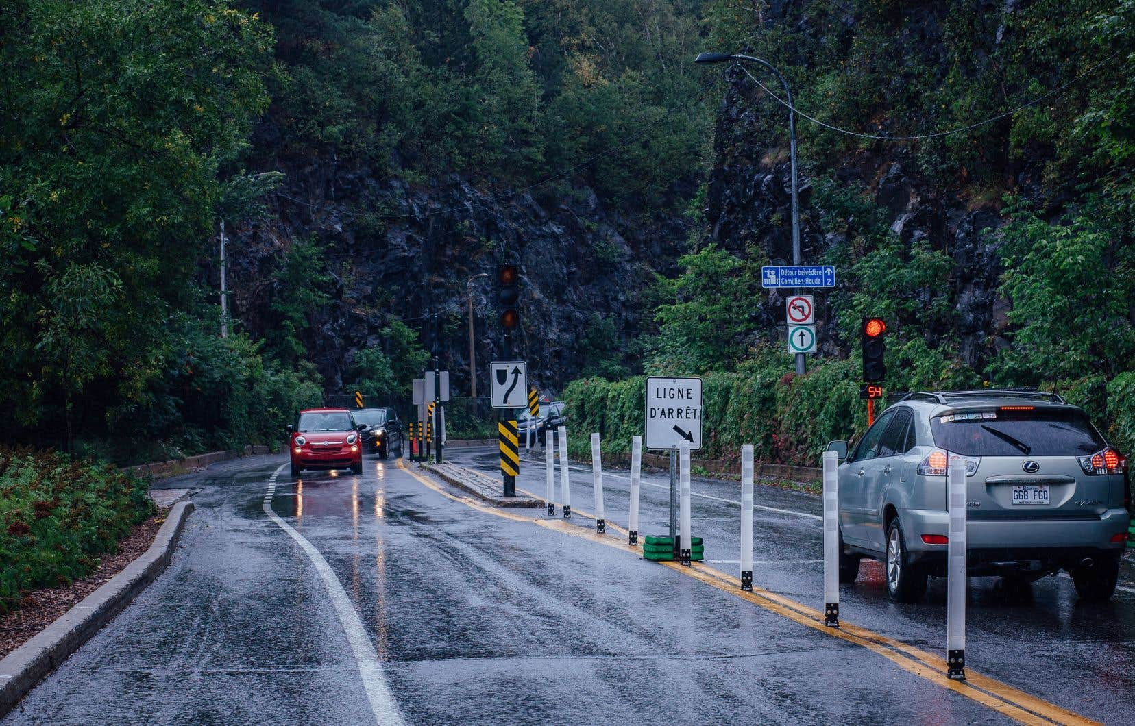 Le transport représente 40% des GES émis sur l'île de Montréal, selon les données dévoilées par le directeur du Bureau de la transition écologique et de la résilience, Sidney Ribaux.