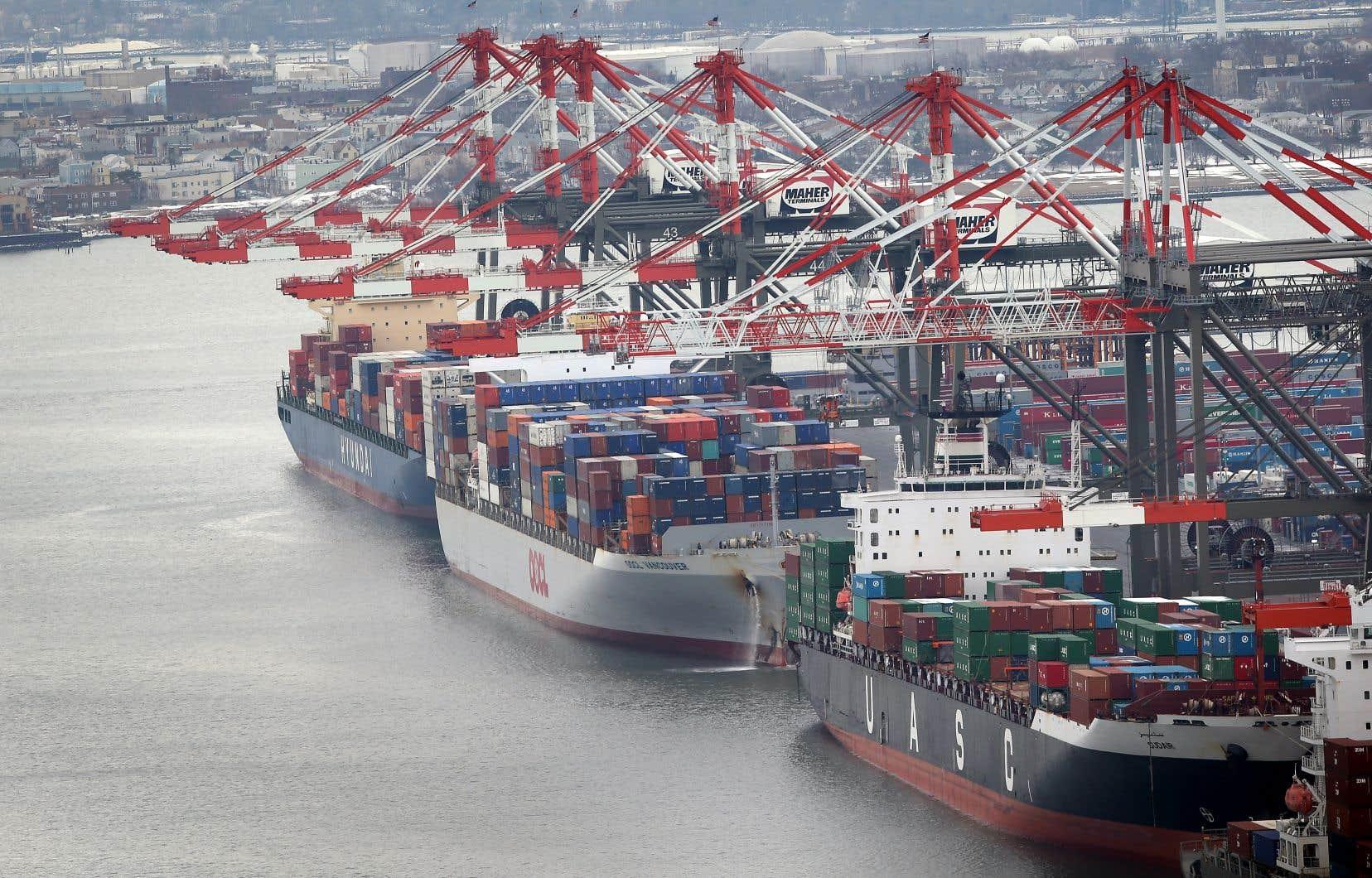 L'Organisation mondiale du commerce avait autorisé mercredi Washington à prendre des sanctions record contre l'UE.