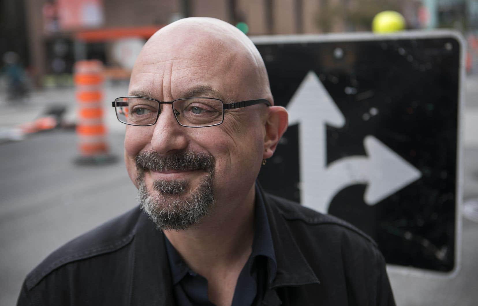 Le professeur de science politique à l'UQAM Francis Dupuis-Déri se spécialise dans l'étude de mouvements sociaux, dont l'anarchisme.