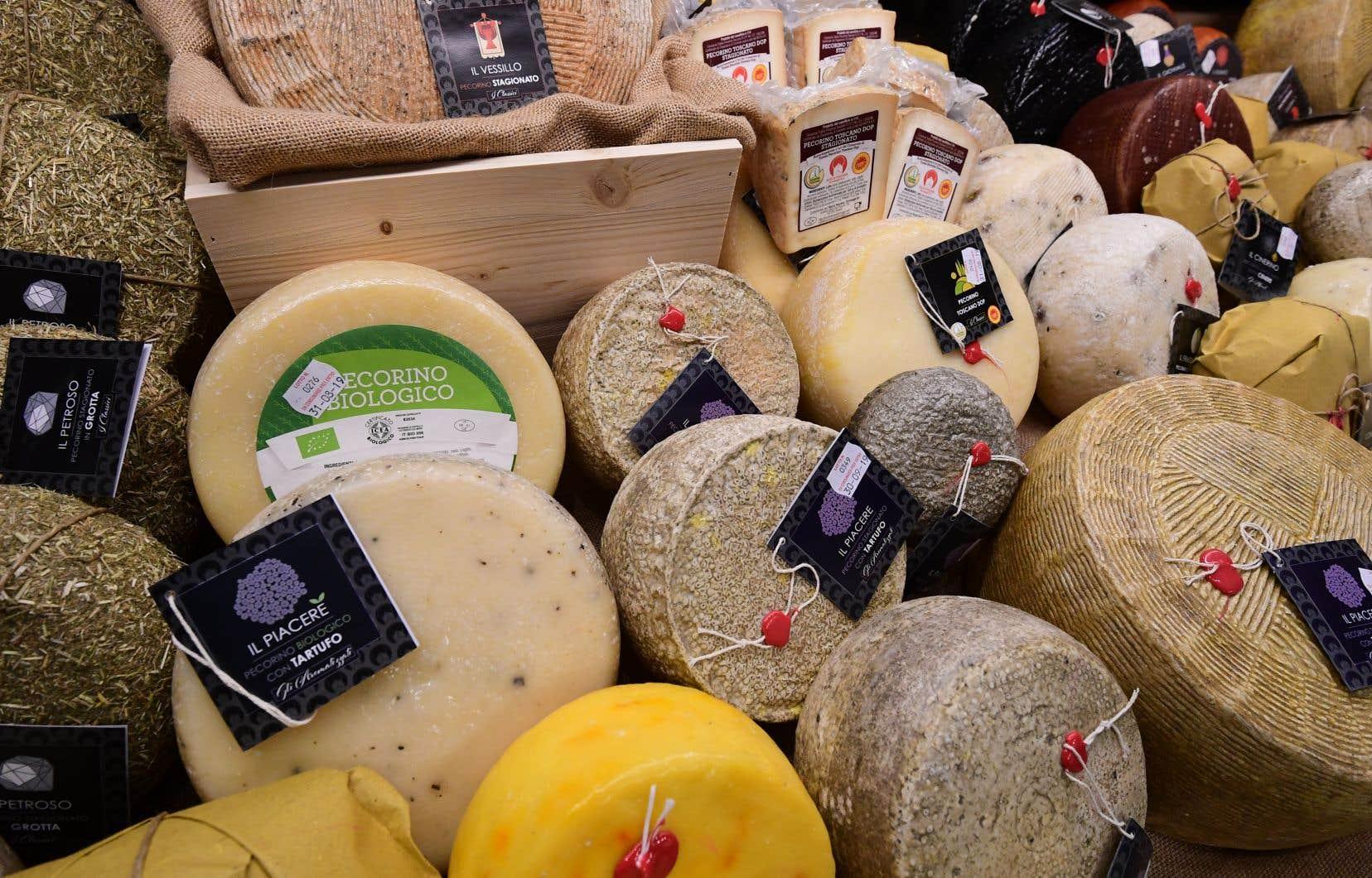 Plusieurs produits européens, dont les vins et les fromages, seront frappés de tarifs douaniers punitifs de 25% par les États-Unis à compter du 18 octobre prochain.