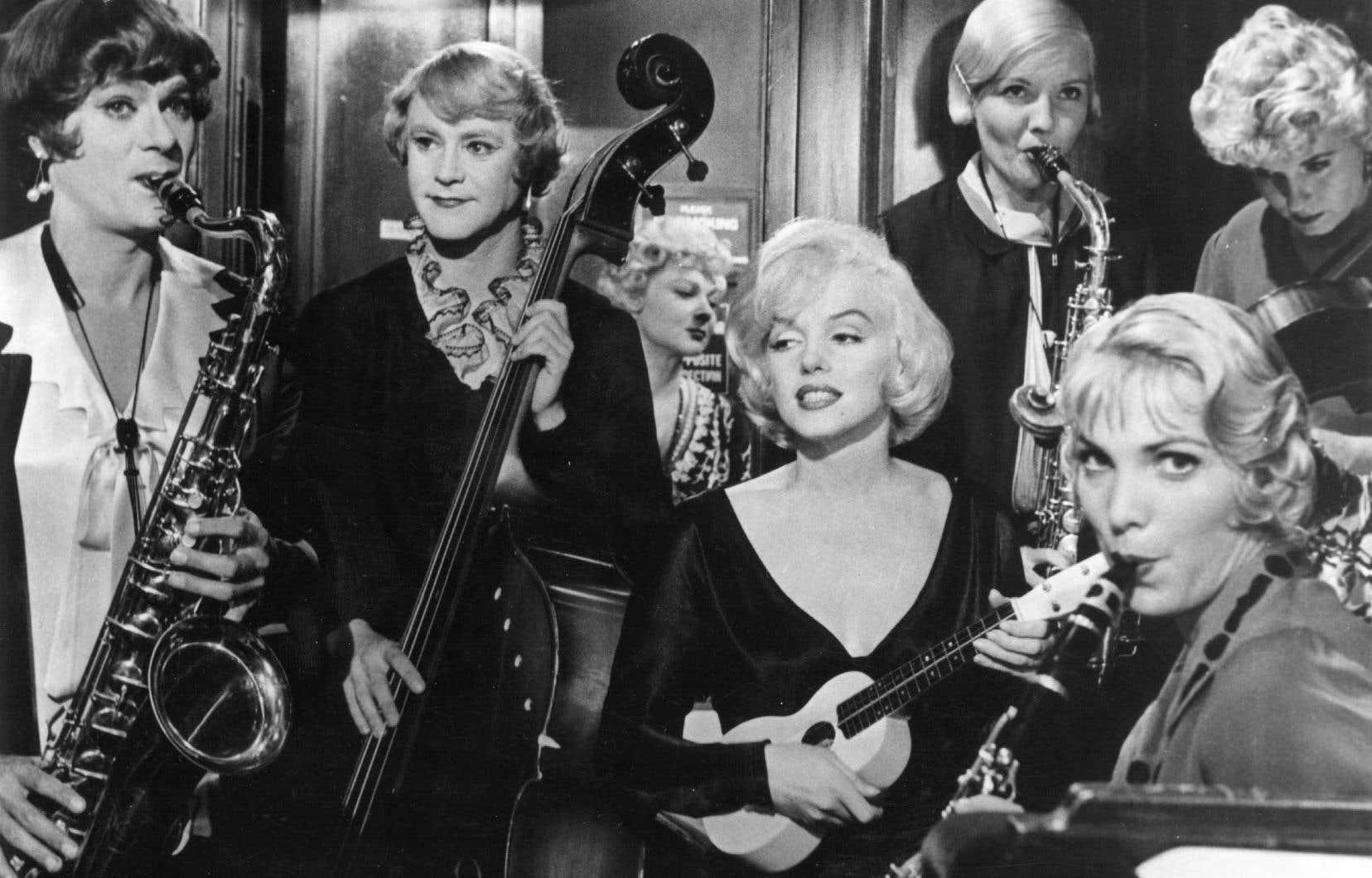 Image tirée du film «Certains l'aiment chaud», 1959