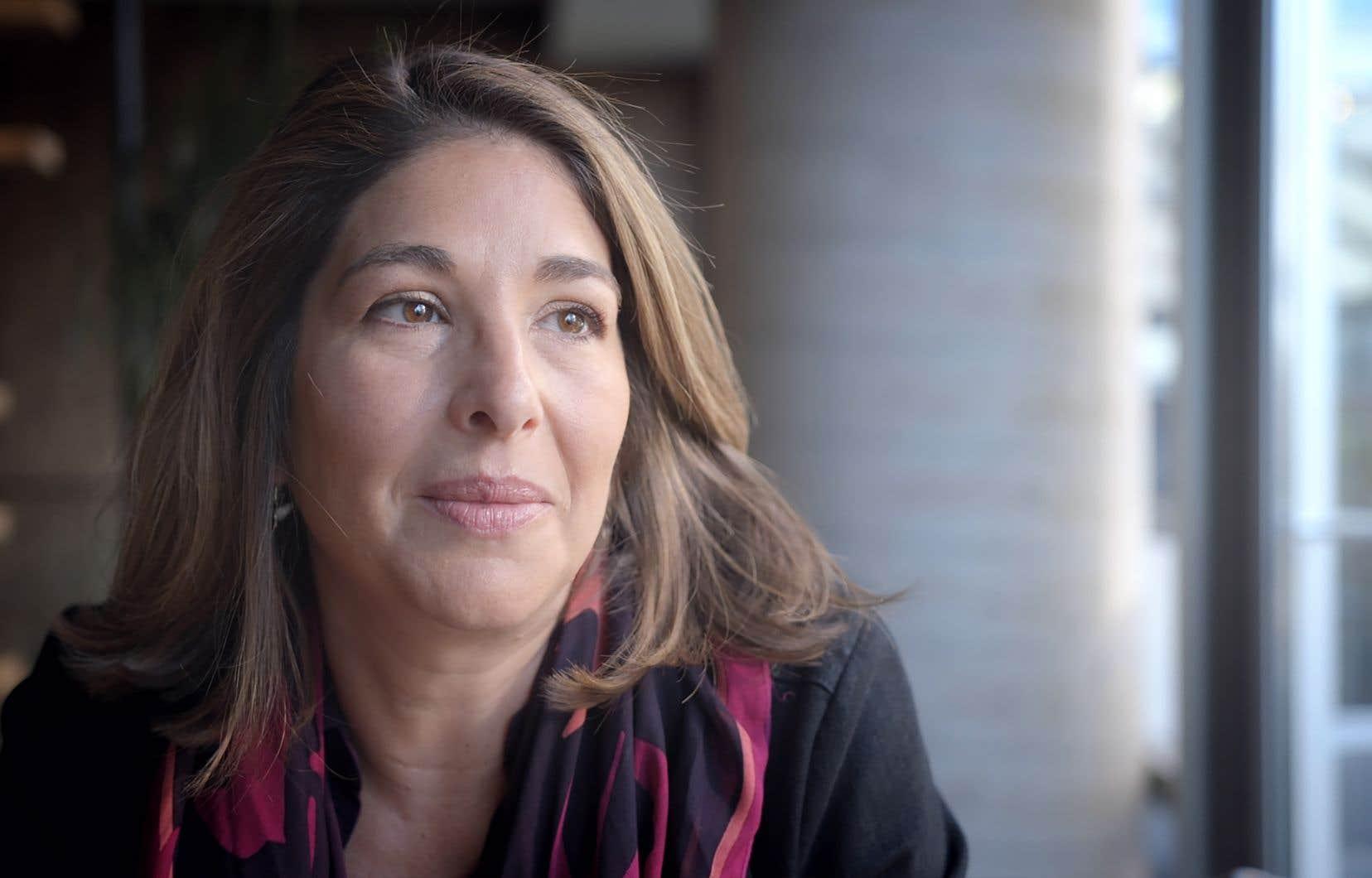 La journaliste et militante canadienne Naomi Klein
