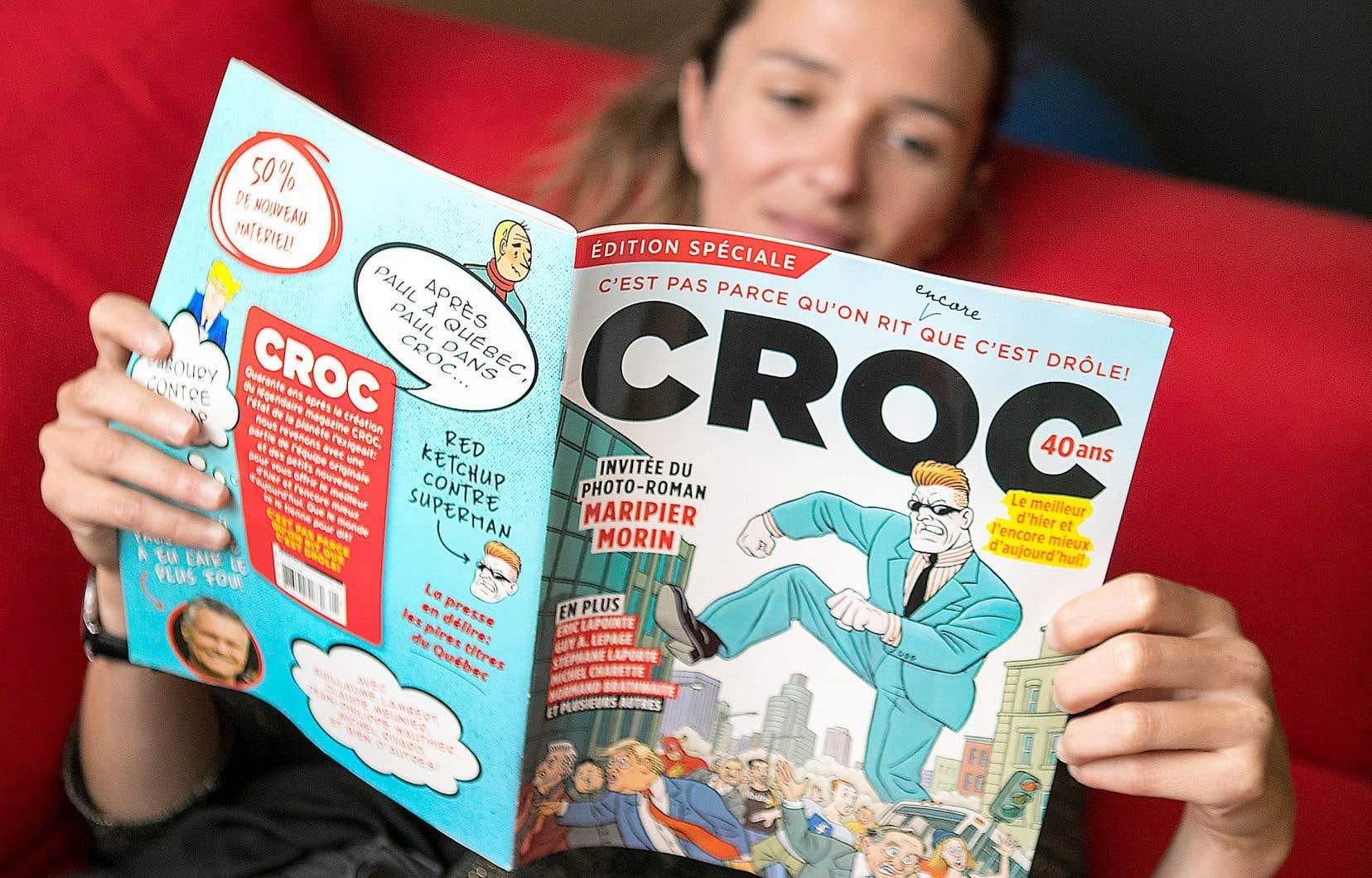 L'édition souvenir d'anniversaire de «Croc»
