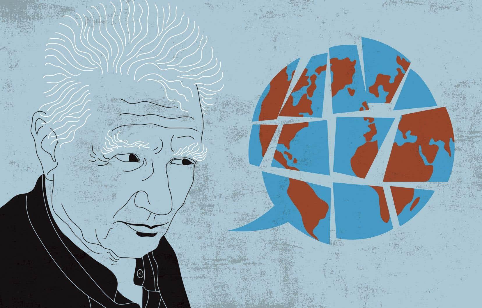 Dans «Marges de la philosophie» (1972), Jacques Derrida conçoit la Différance comme un mouvement du langage qui englobe trois sens du terme différent. Tout d'abord, le sens d'«action de repousser à plus tard», ensuite celui d'«être autre, différent», c'est-à-dire non identique, et enfin, le sens qui renvoie au conflit (le différend).