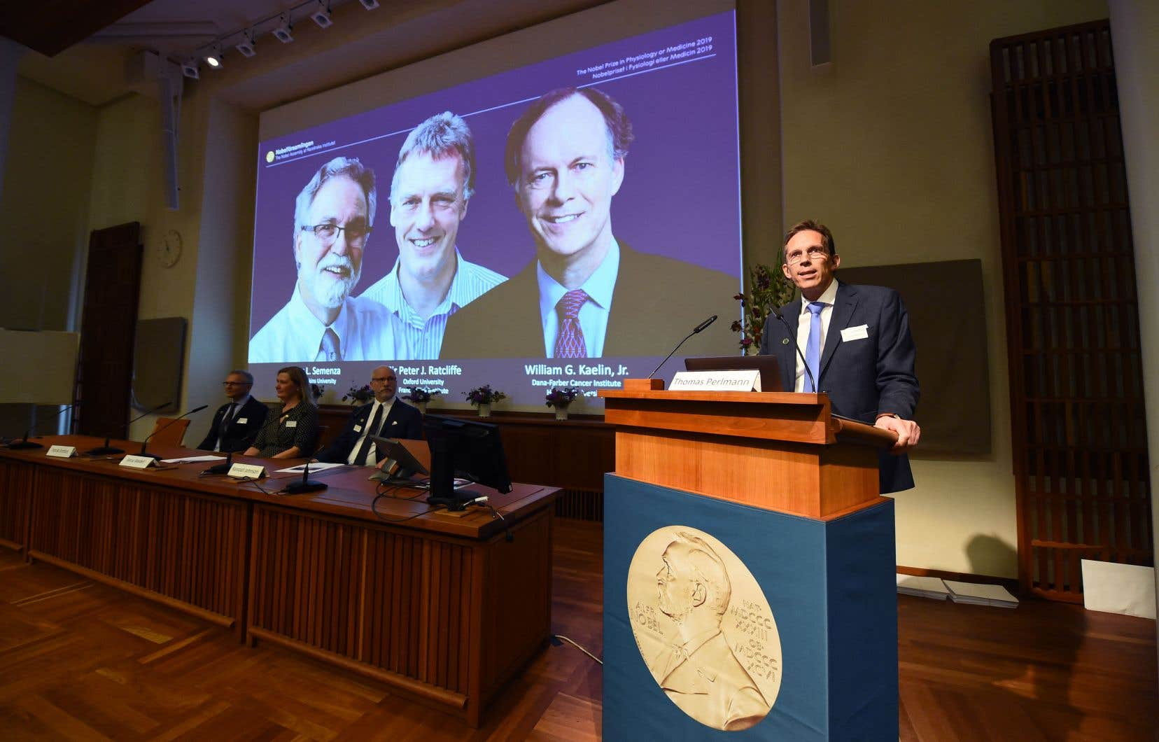 Avant de choisir ses lauréats, l'Assemblée Nobel avait reçu 633 nominations cette année.
