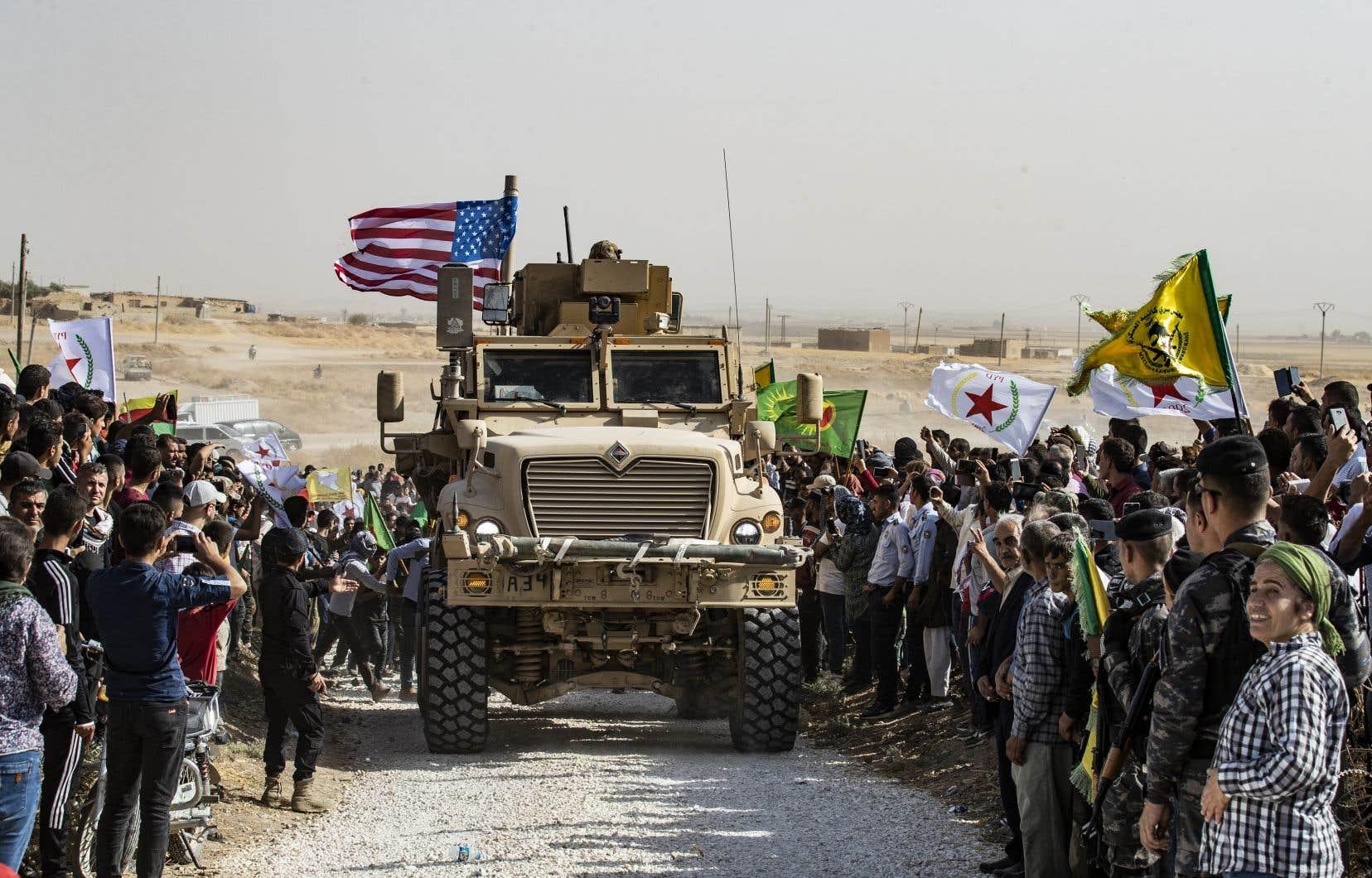Les forces kurdes sont des alliés de longue date de Washington dans la lutte antidjihadiste en Syrie.