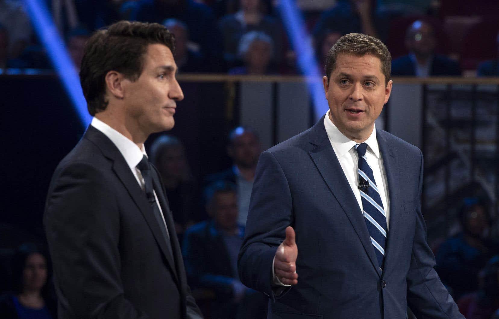 Le chef conservateur aurait voulu avoir plus d'occasions de confronter directement le chef libéral lors du débat de lundi.