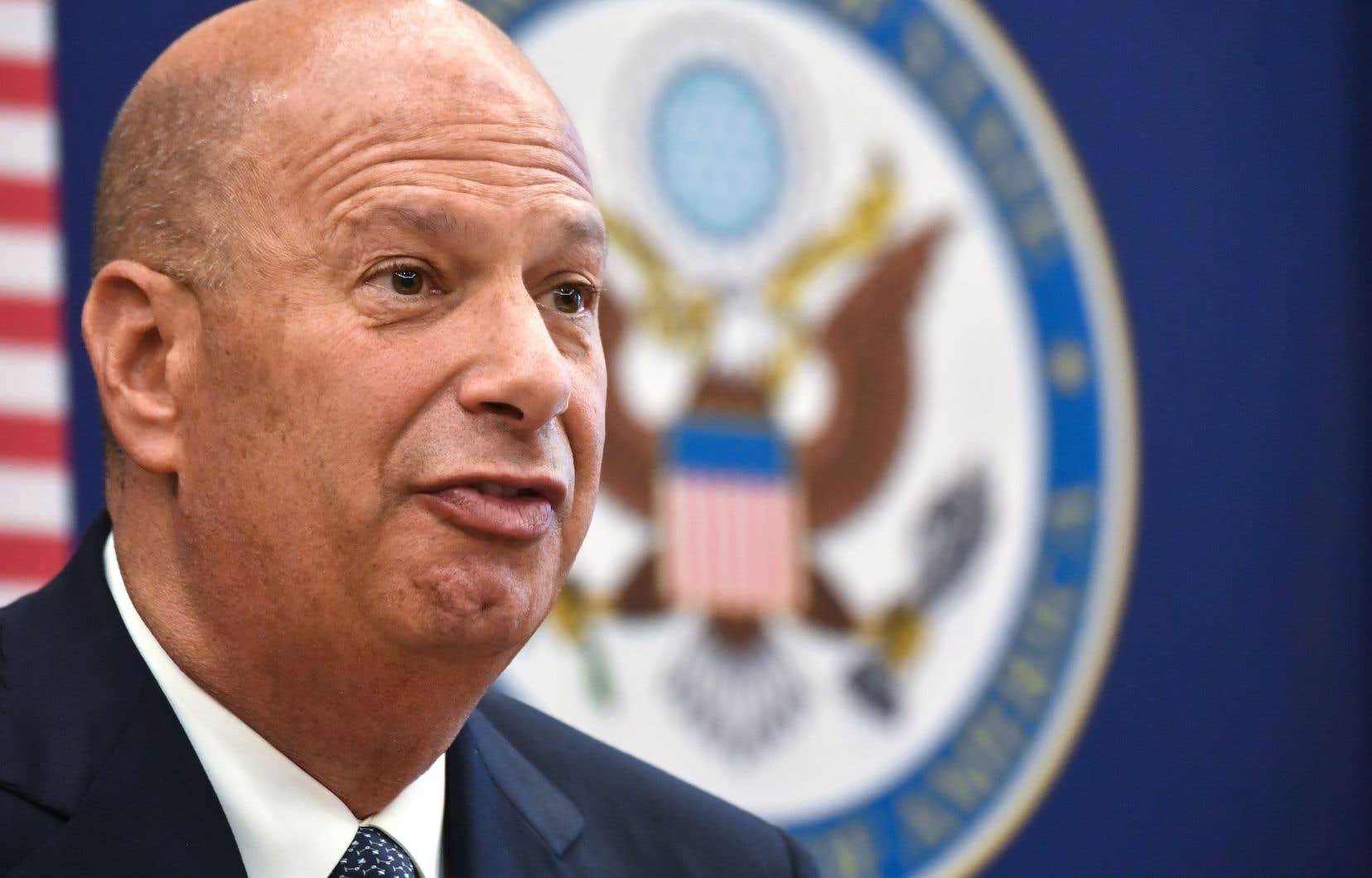 L'ambassadeur américain Gordon Sondland a été informé mardi par la Maison-Blanche qu'il ne devait pas se présenter aux audiences du Congrès.
