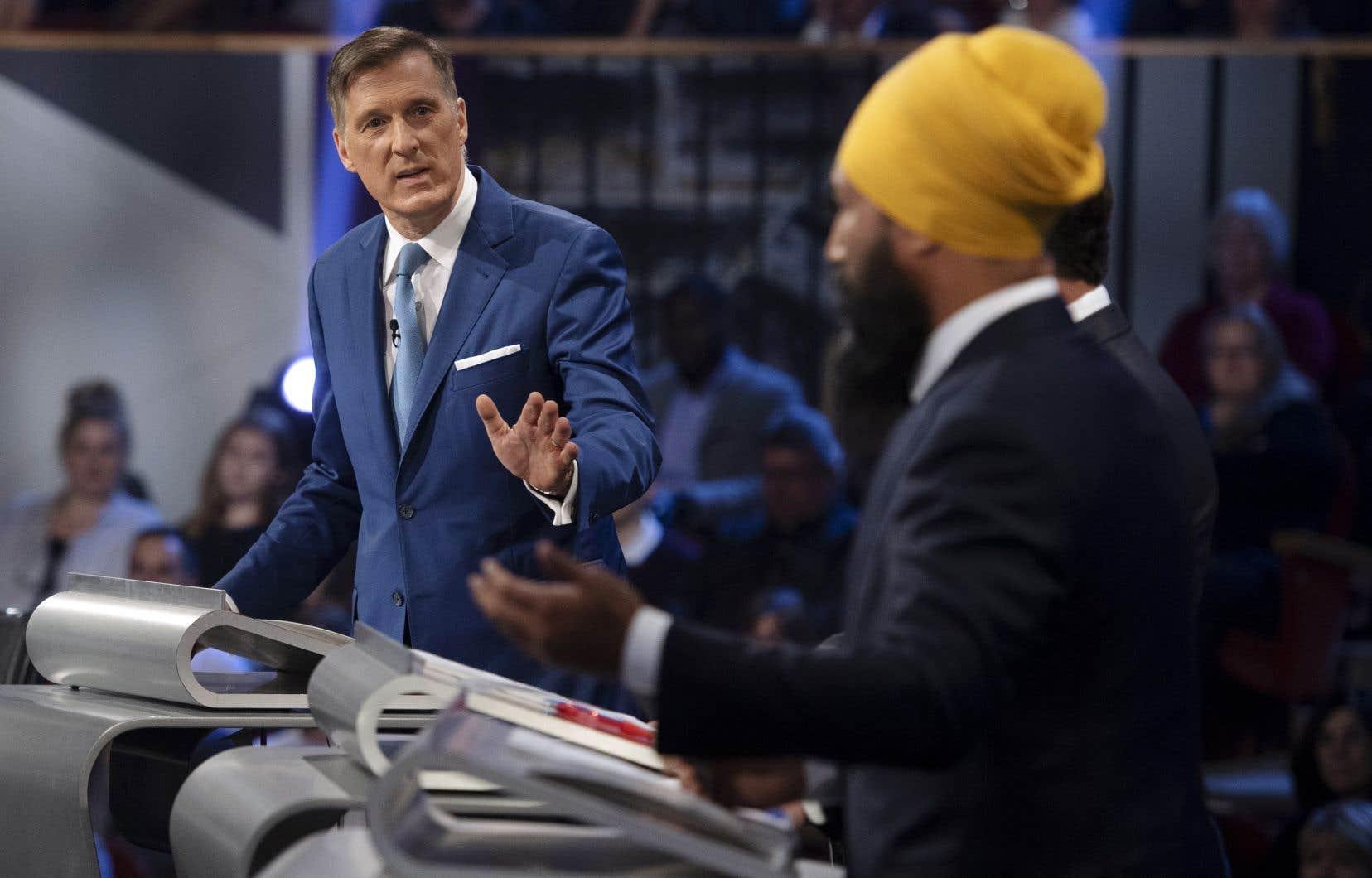 Le chef du Parti populaire du Canada, Maxime Bernier, a fait rire de lui lors du débat des chefs en anglais le 7 octobre, lorsqu'il a dit que son parti était le seul défenseur de l'environnement.