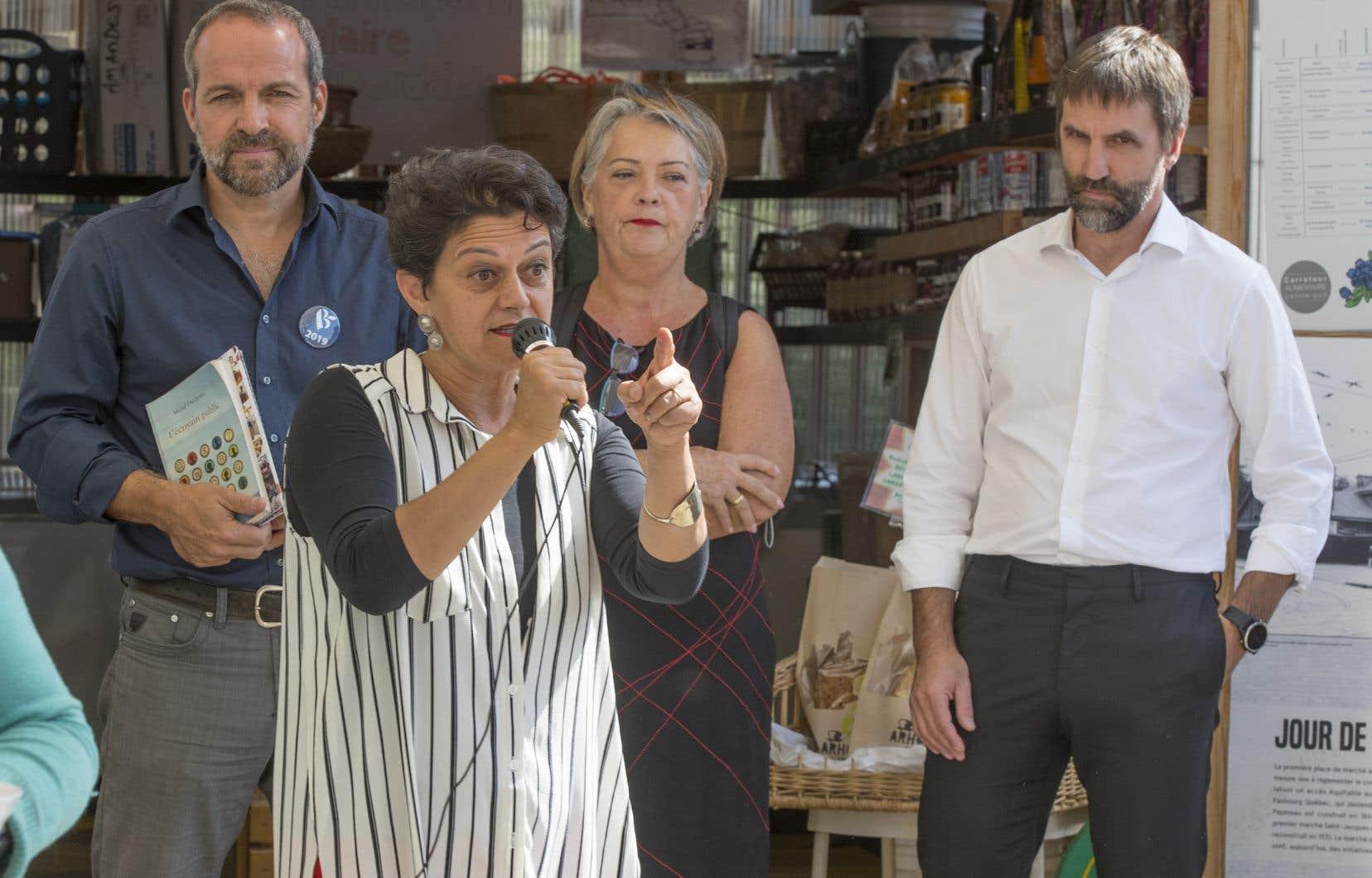 Michel Duchesne,Nimâ Machouf, Lise Des GreniersetSteven Guilbeault