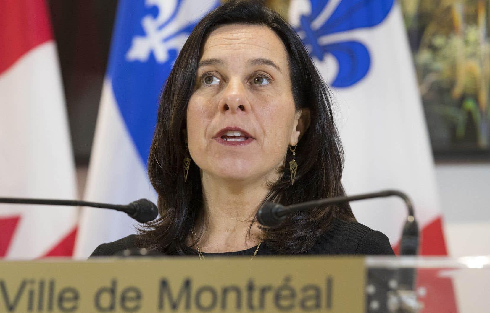 Ce n'est pas la première fois que Valérie Plante (sur la photo) est personnellement visée par des procédures judiciaires.