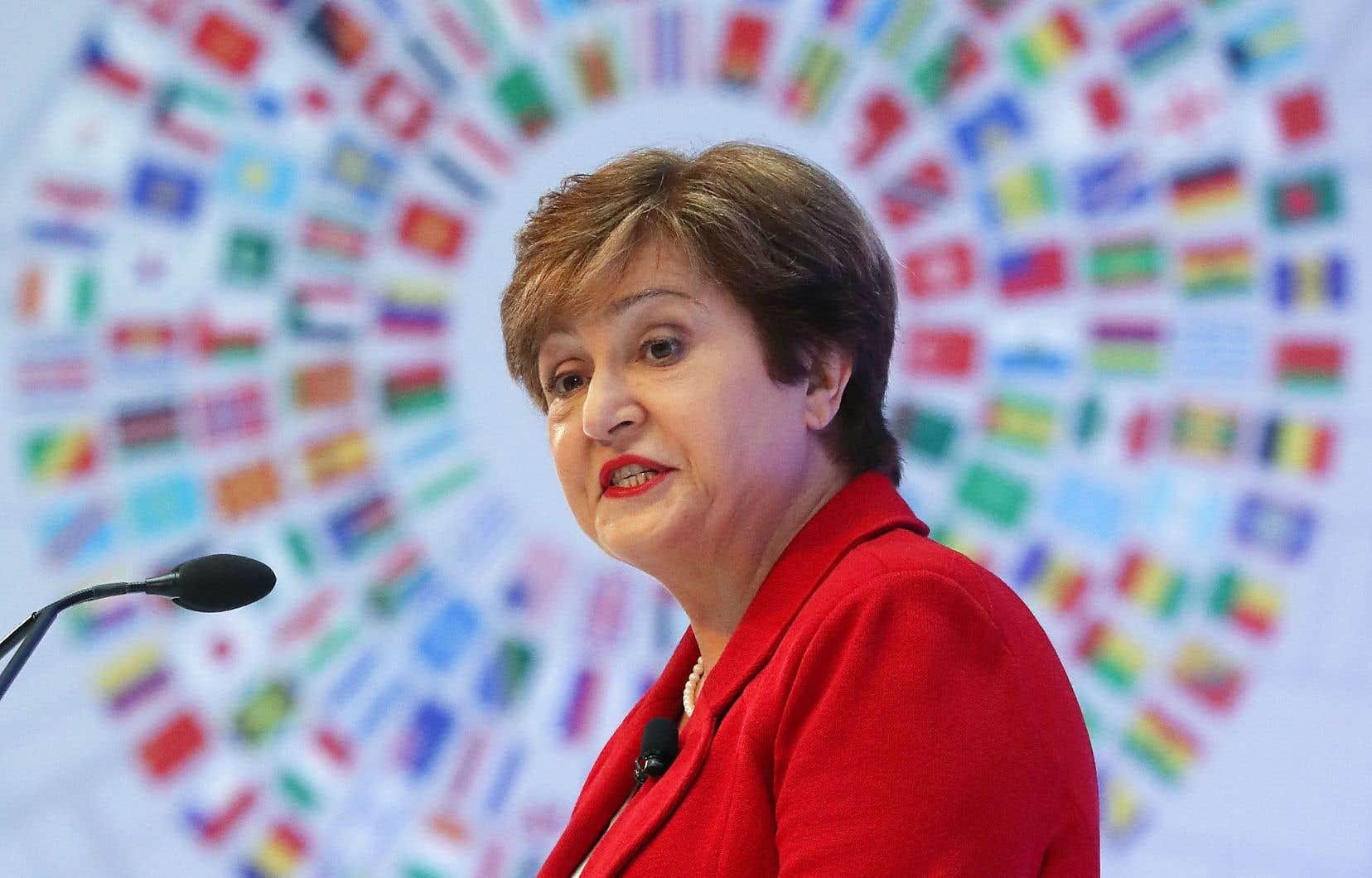 La nouvelle directrice générale du FMI, Kristalina Georgieva