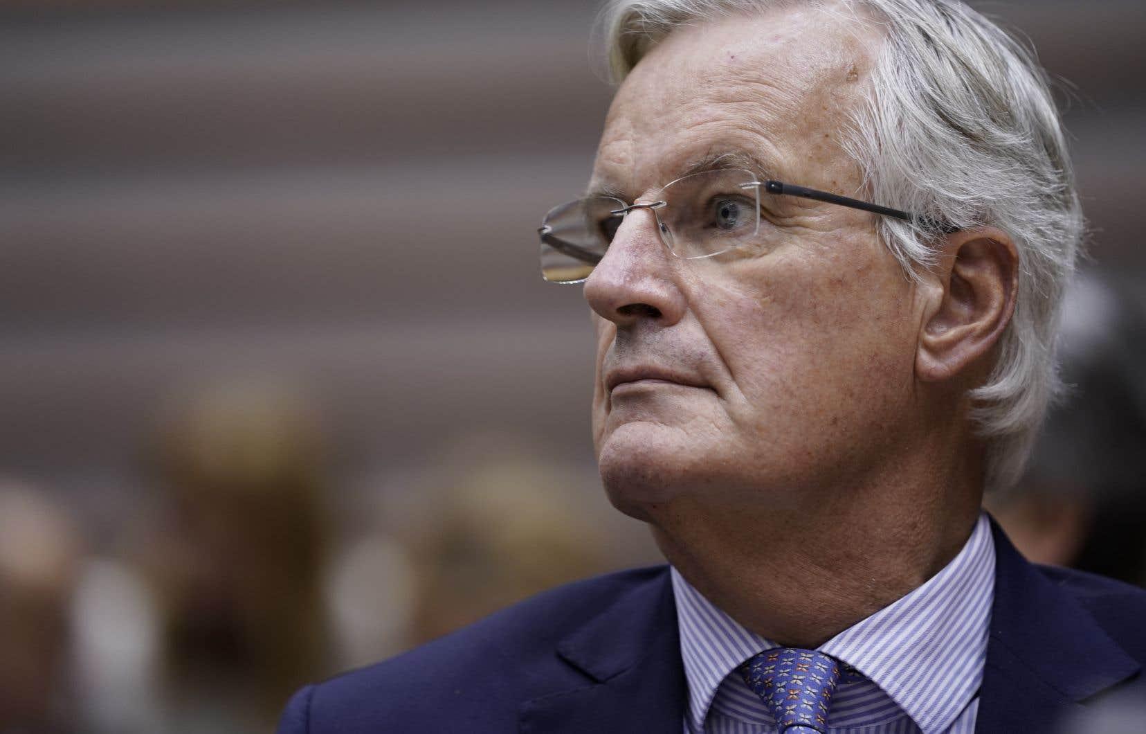 «Au moment où je vous parle, nous ne sommes pas au point d'envisager et de trouver un accord. [...]Pourtant le temps presse», a déclaré M.Barnier devant le Parlement européen.
