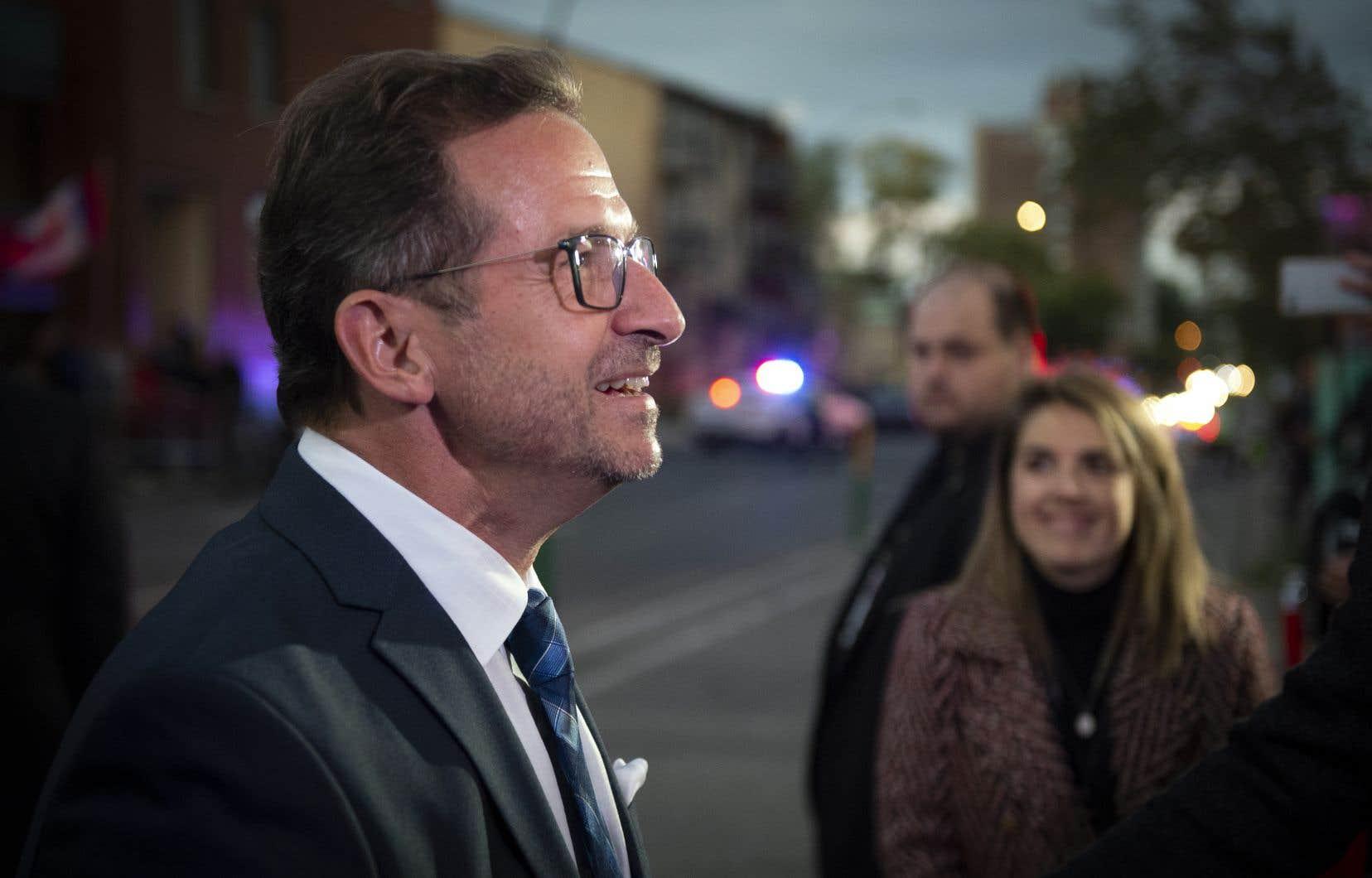 Les attaques des rivaux du Bloc ont amusé le chef du parti, Yves-François Blanchet.