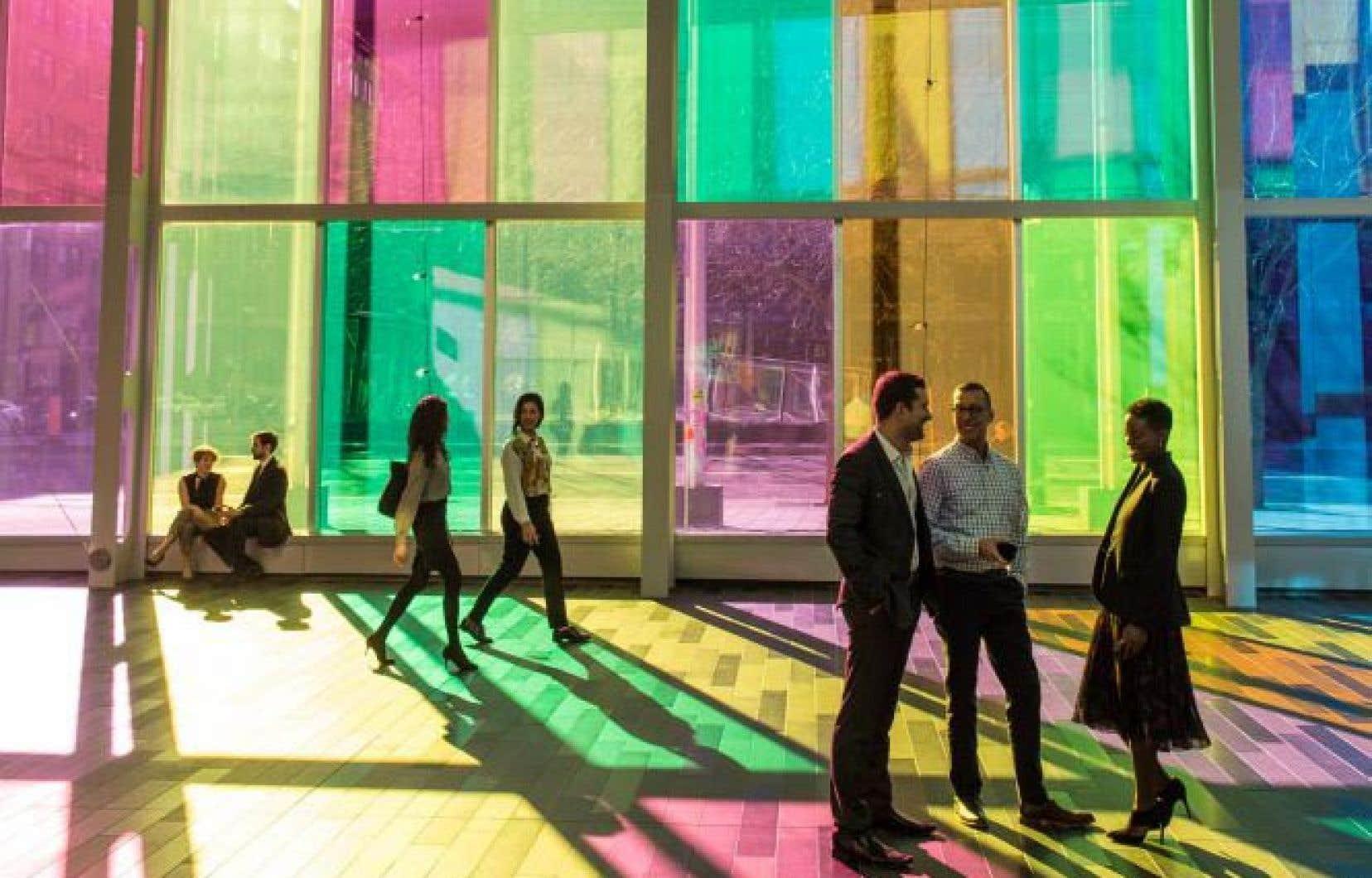 Le Palais des congrès de Montréal s'est associé avec l'incubateur d'innovations en tourisme MT Lab pour devenir «une vitrine de la créativité montréalaise».