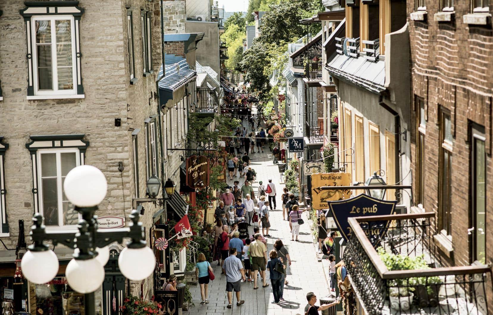 Le quartier du Petit-Champlain, au cœur du Vieux-Québec