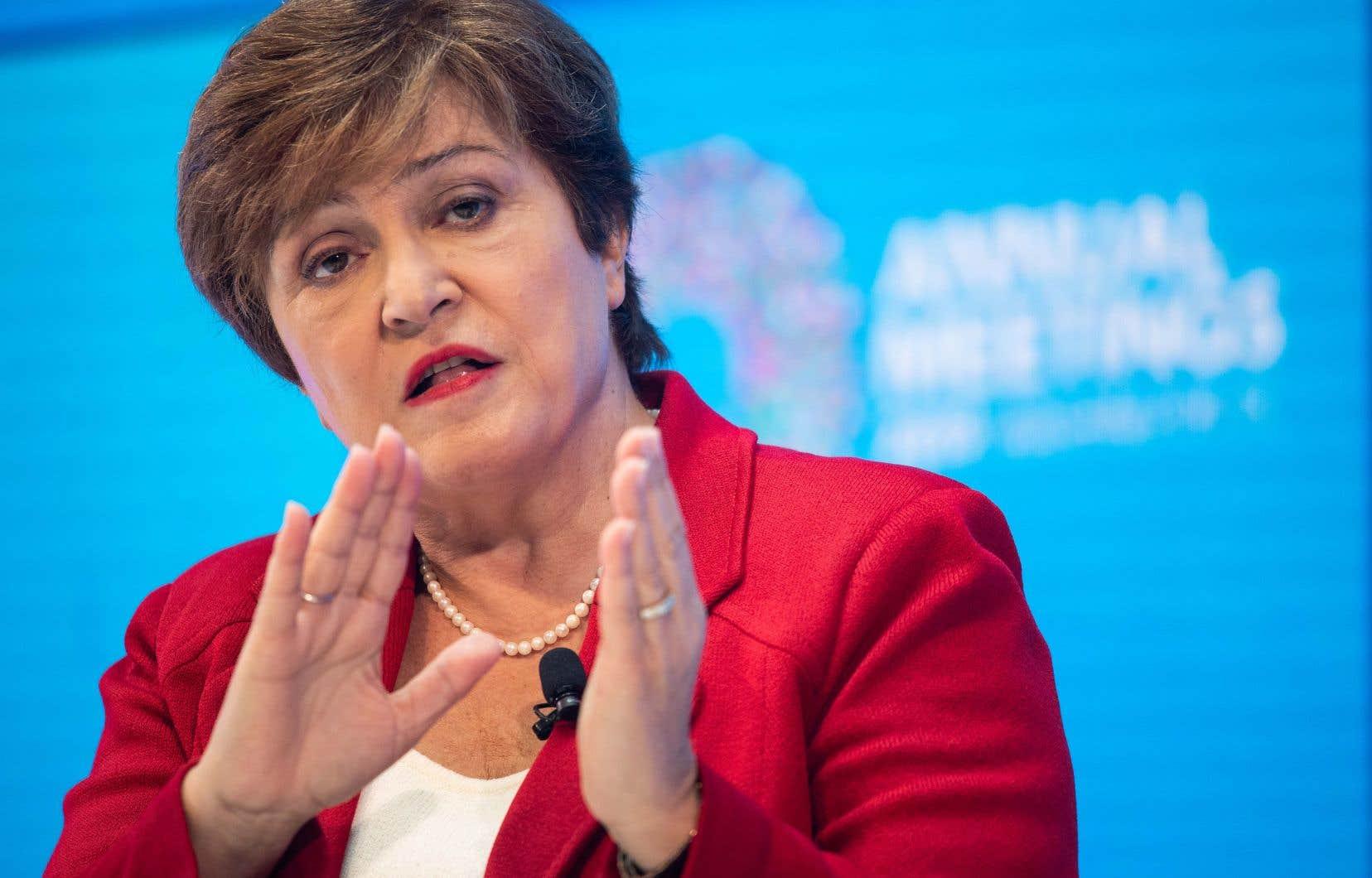 Kristalina Georgieva, la nouvelle directrice générale du Fonds monétaire international