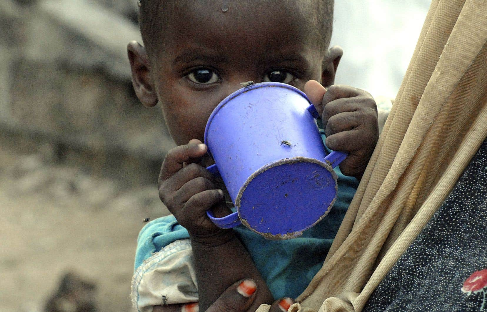 D'ici 30 ans, cinq milliards d'humains, particulièrement en Afrique et en Asie duSud, pourraient être confrontés à une pénurie d'eau potable et de nourriture.
