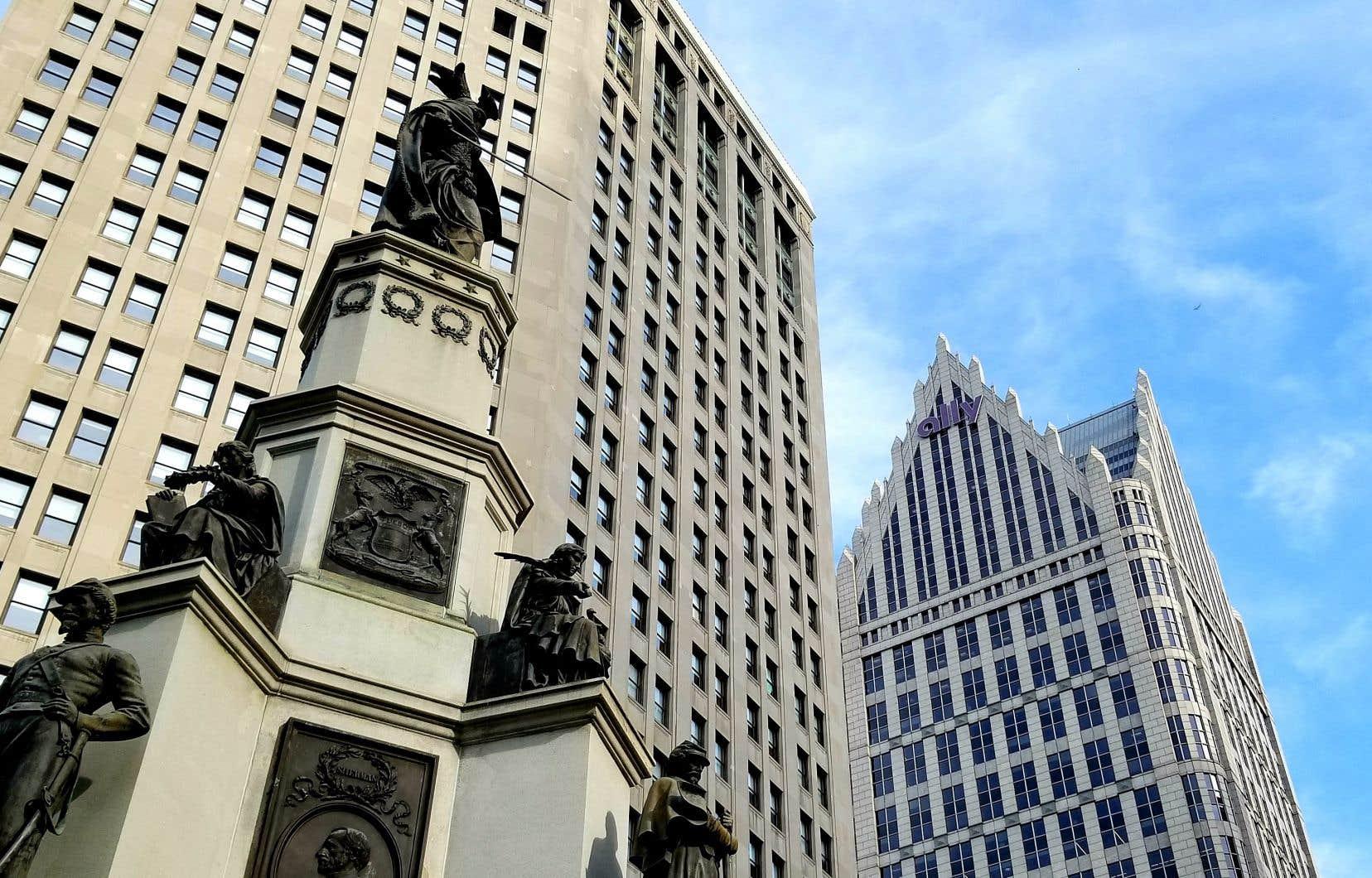 Le centre-ville de Detroit renoue avec les affaires et le tourisme.