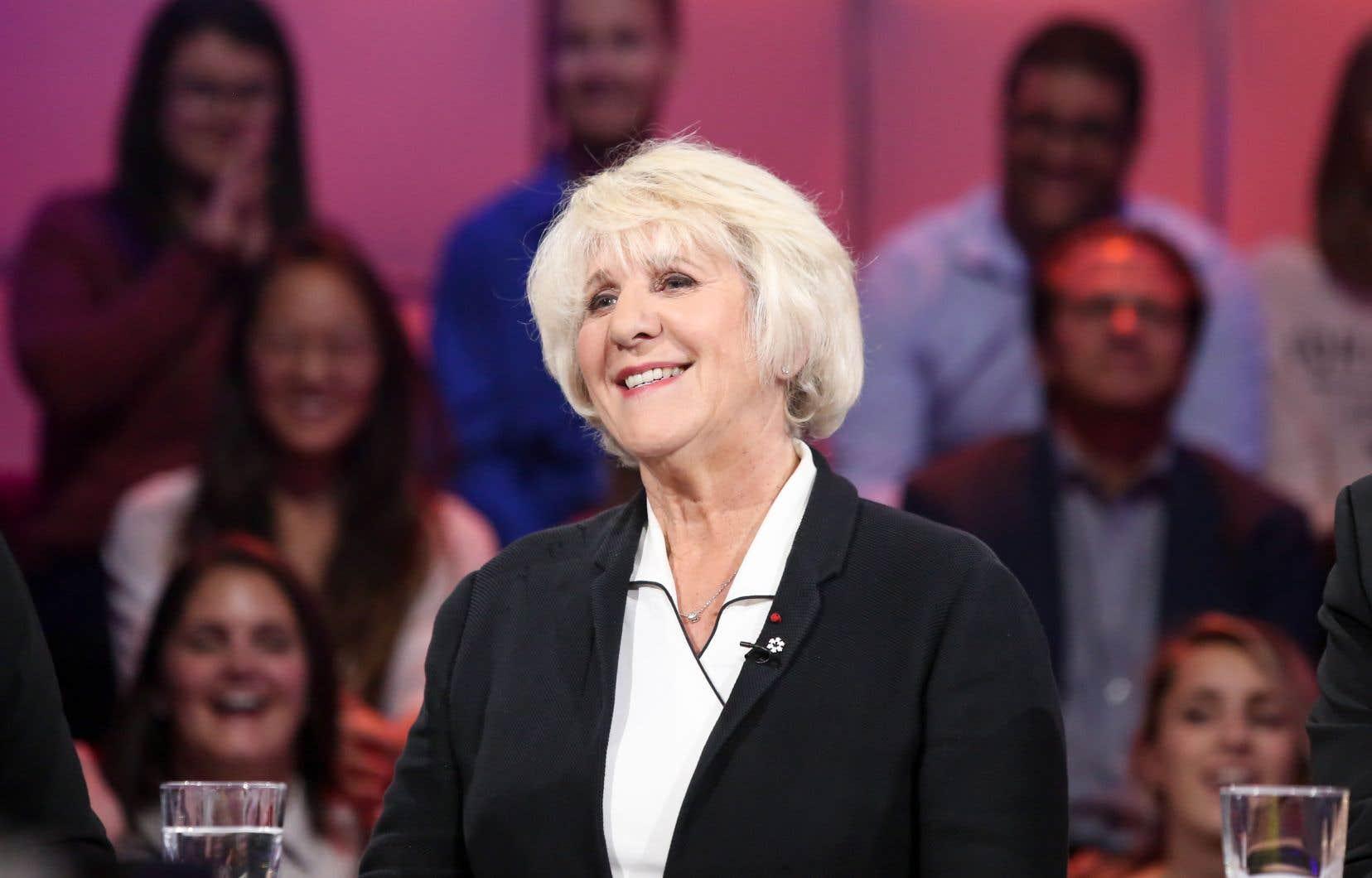 Denise Bombardier, à l'émission Tout le monde en parle du 6 octobre 2019