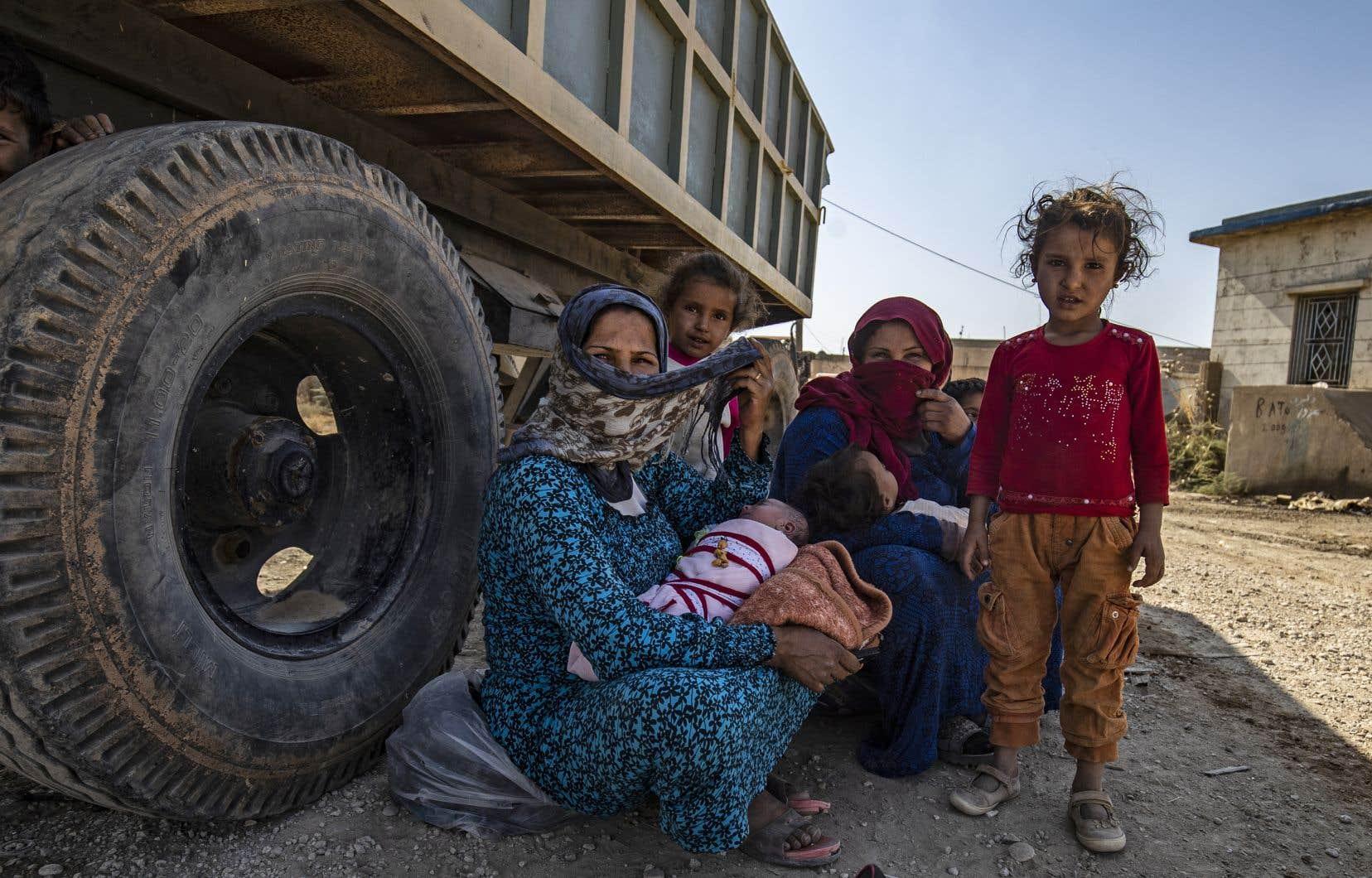 Selon l'ONU, 70000 personnes ont déjà fui leurs foyers depuis mercredi.