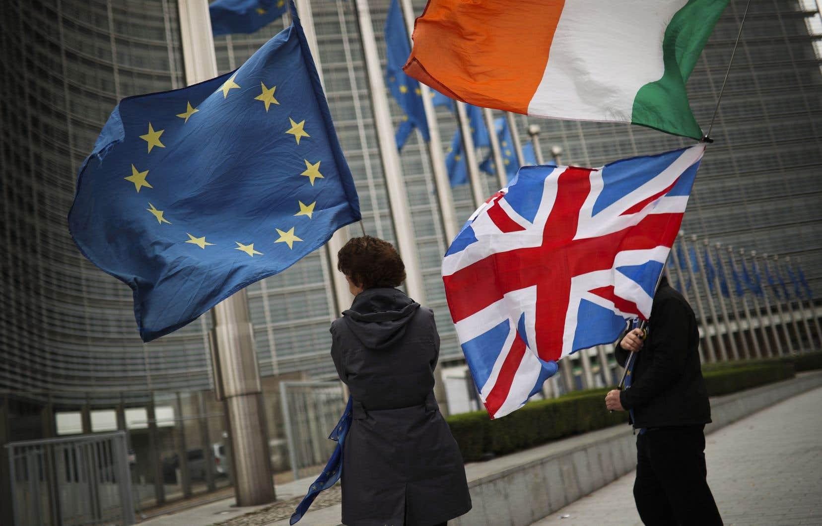 Les Britanniques seraient prêts à évoluer sur la question épineuse des contrôles douaniers sur l'île d'Irlande.