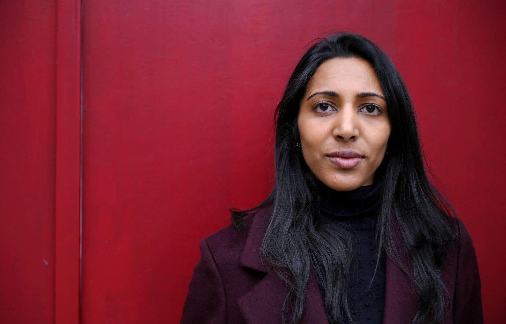 La fondatrice de la start-up Moonshot CVE, Vidhya Ramalingam