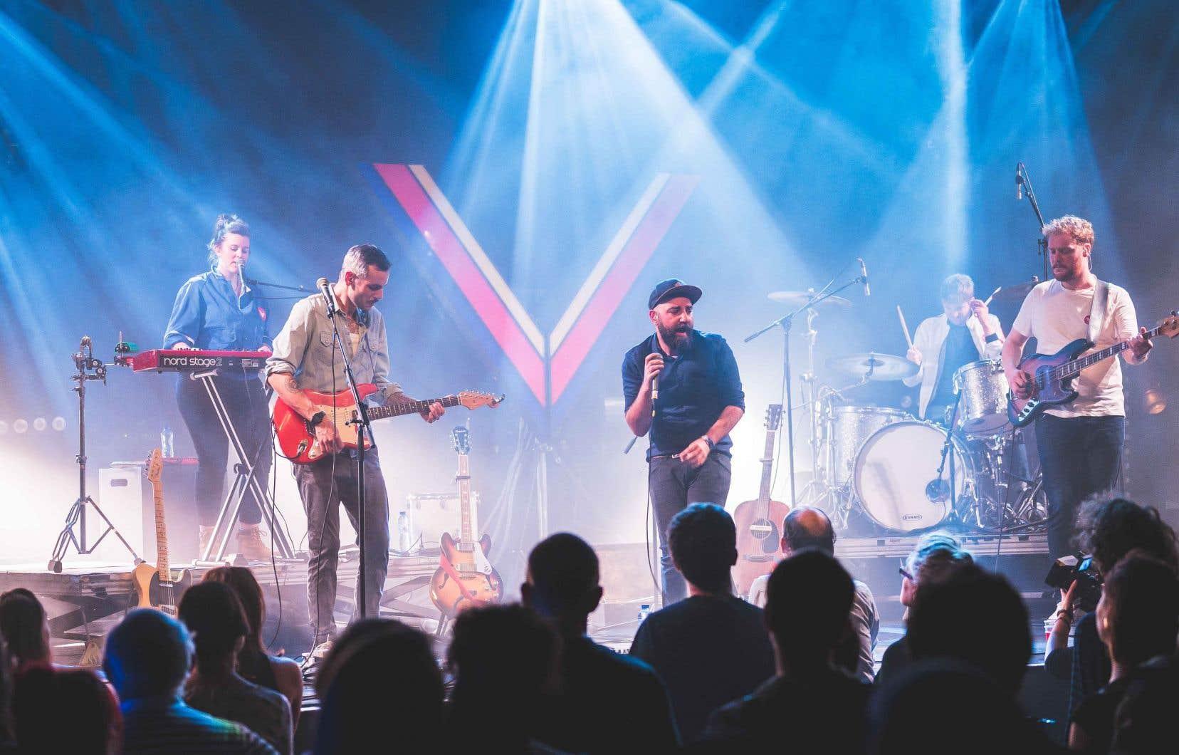 Le groupe belge Dalton Telegramme présentait son plus récent album, «Victoria», dimanche soir, lors du grand concert de clôture du festival FrancoFaune à l'Orangerie du Botanique, l'une des scènes les plus prestigieuses de Bruxelles.