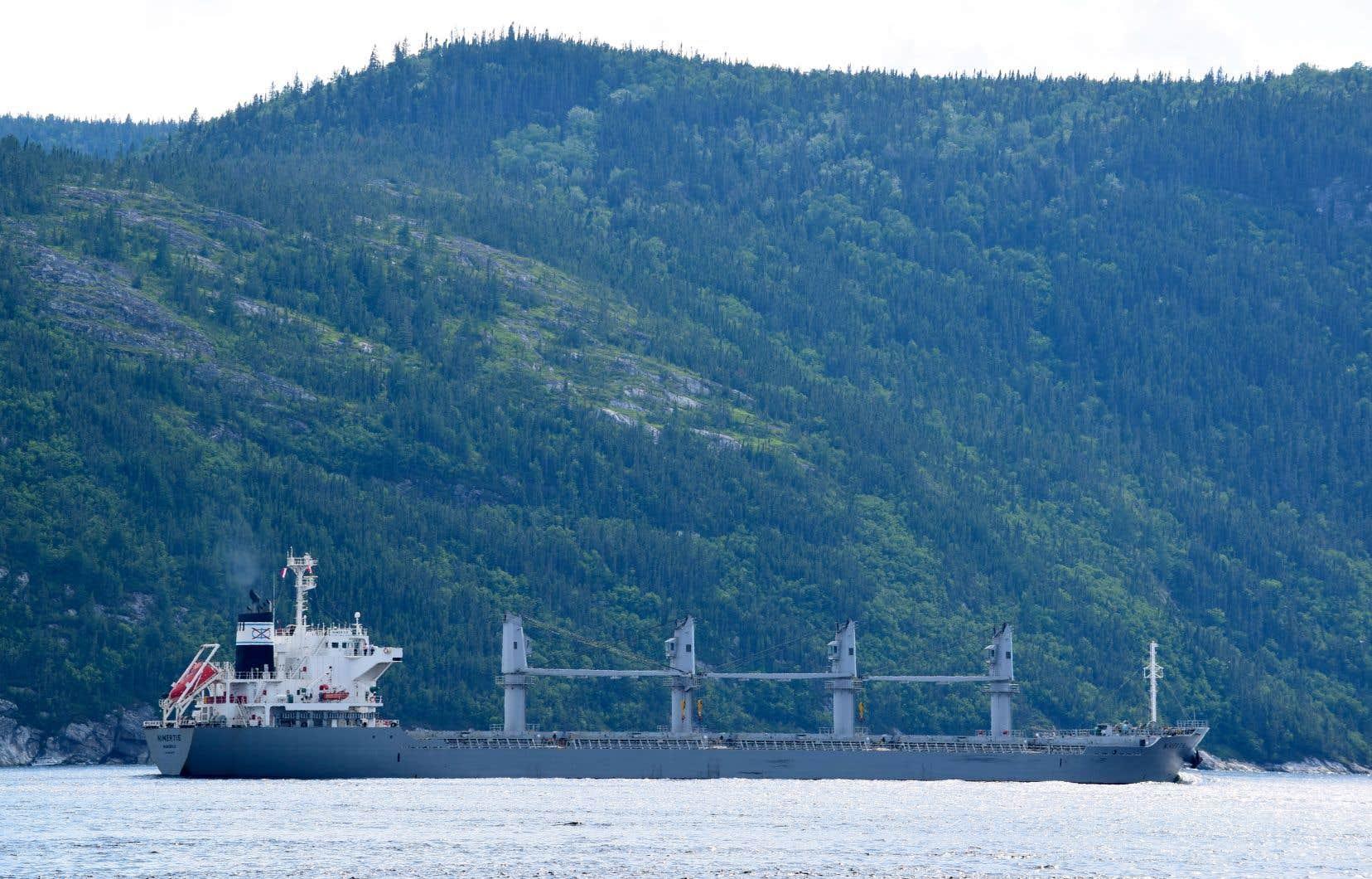 Selon les données mises en avant par GNL Québec, les émissions de gaz à effet de serre à compenser chaque annéeatteindront 421000 tonnes pour le projet Énergie Saguenay.