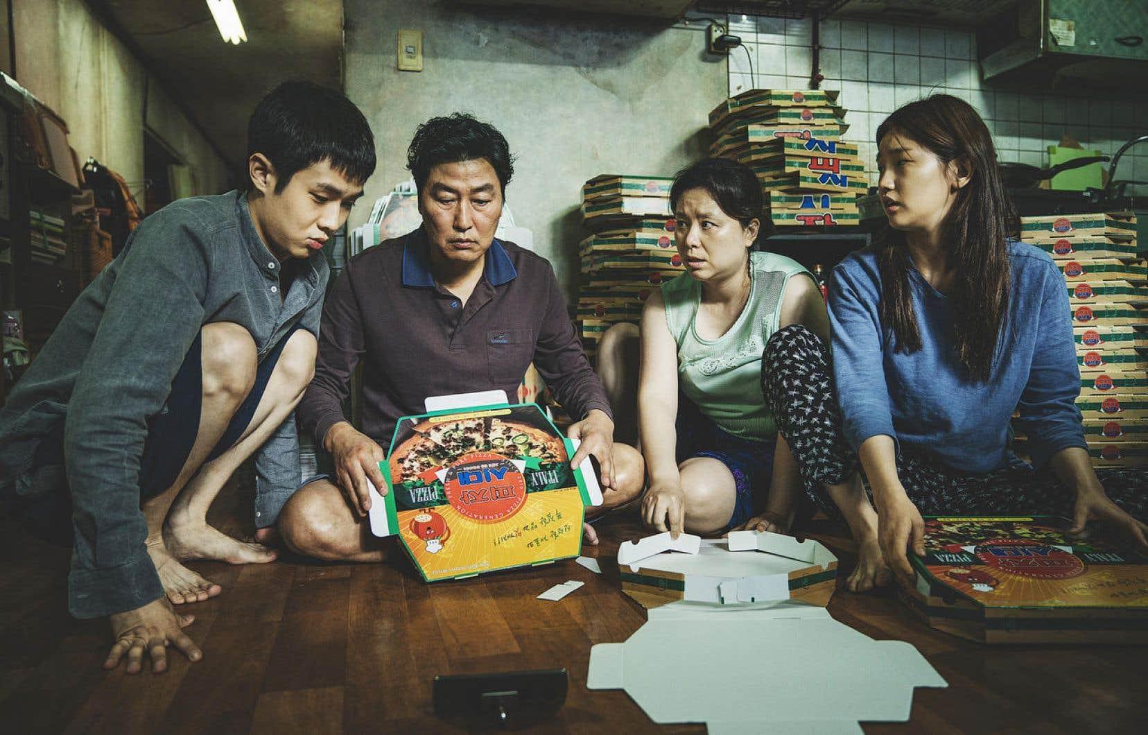 Une scène de «Parasite», du réalisateur Sud-Coréen Bong Joon-ho. Le film connaît un succès international.