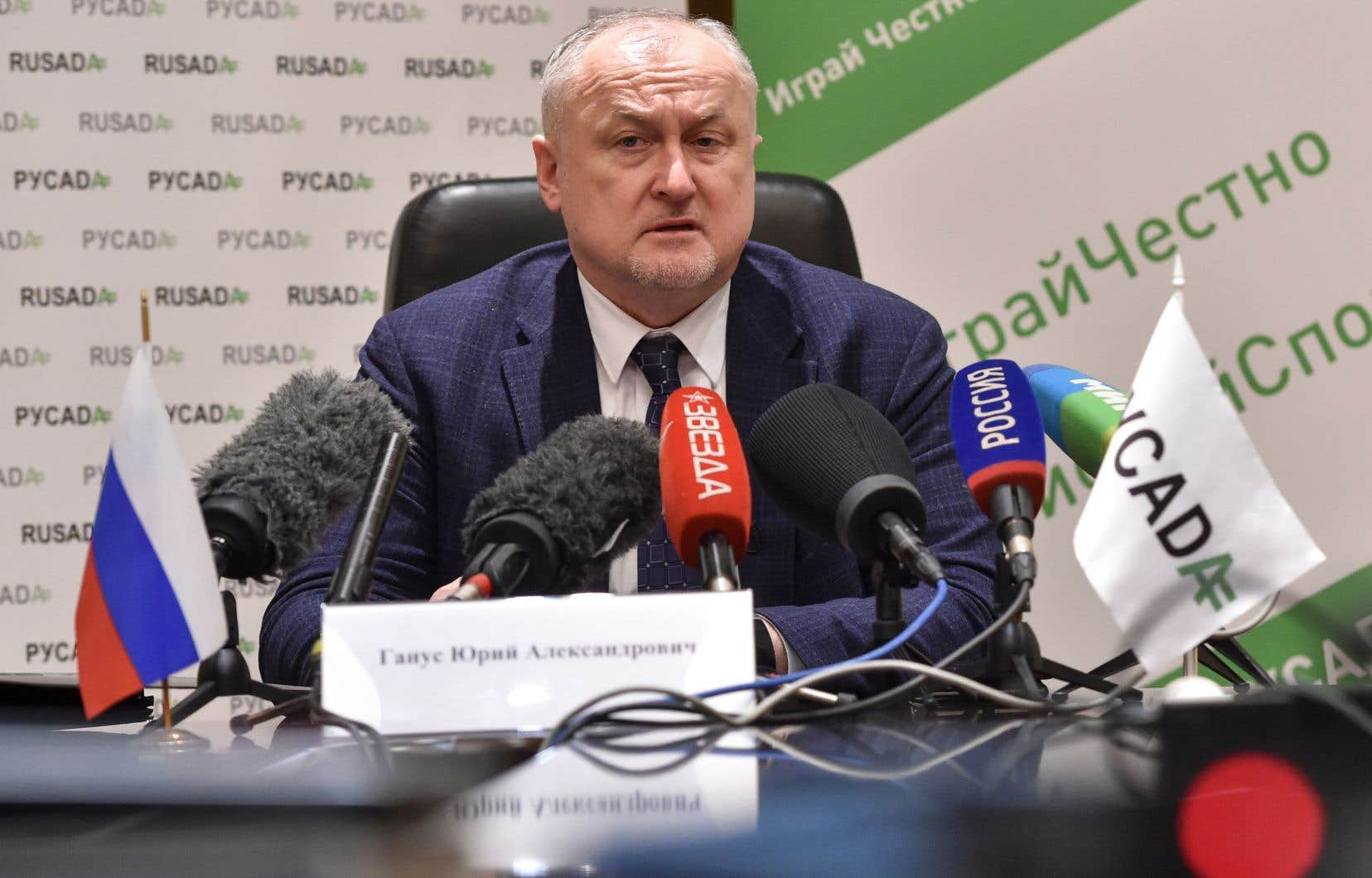 Le directeur de l'Agence antidopage russe, Iouri Ganous,a récemment accusé à deux reprises les autorités sportives de son pays d'avoir manipulé des données électroniques remises à l'AMA.