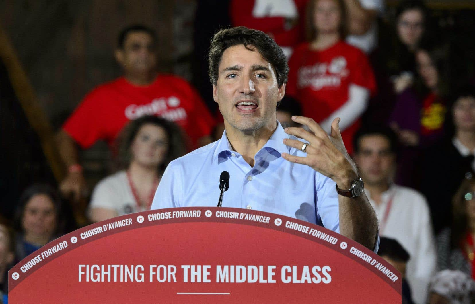 Le chef libéral fédéral, Justin Trudeau (sur la photo), a lancé un avertissement à son homologue,le premier ministre du Nouveau-Brunswick, Blaine Higgs.