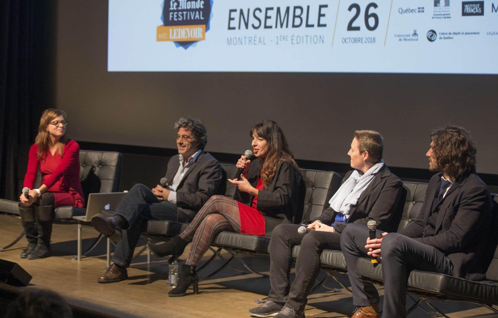 Le Monde Festival était présenté pour la première fois l'an dernier à Montréal.