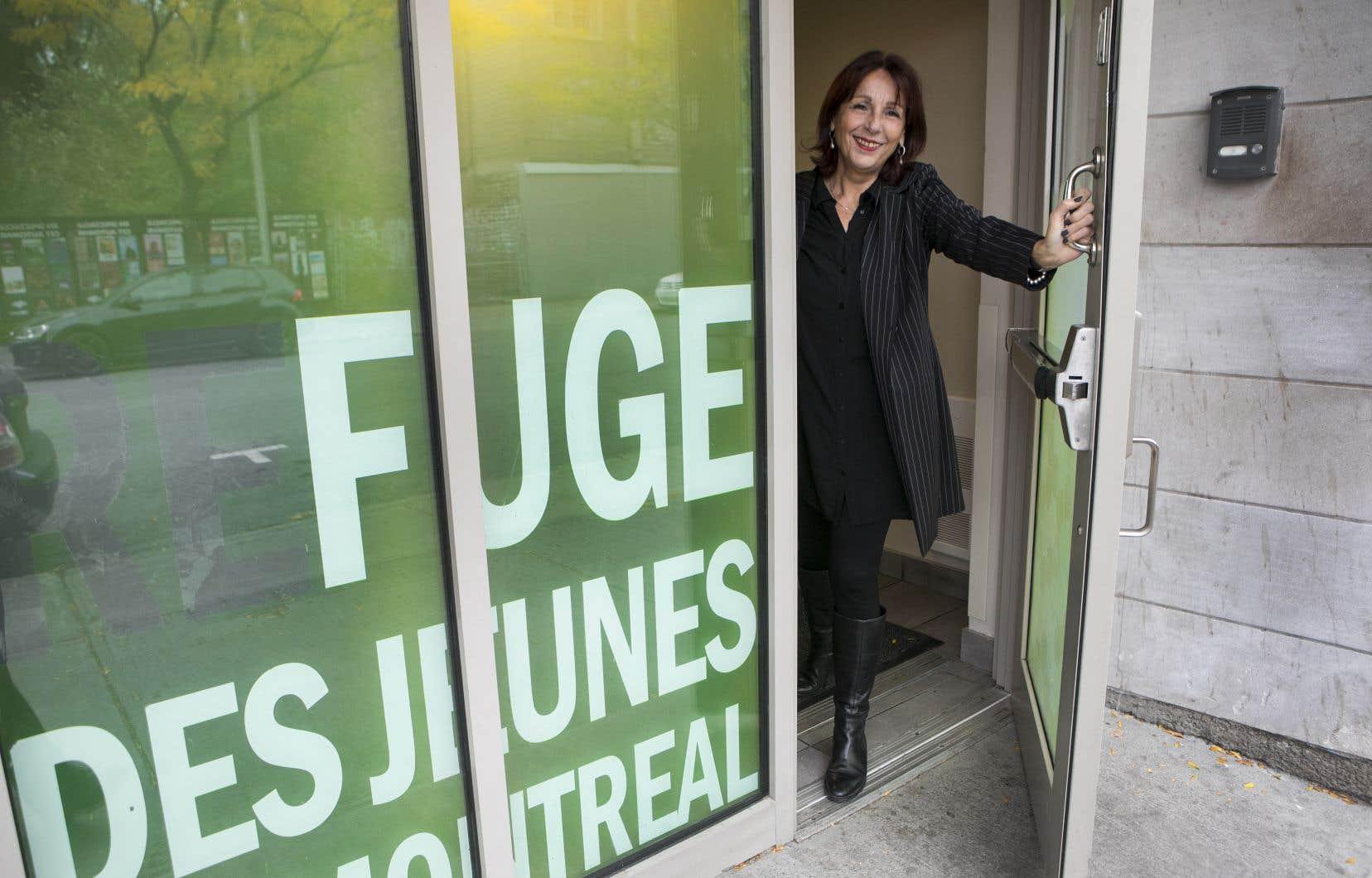 France Labelle accueille les jeunes de la rue depuis 30 ans.